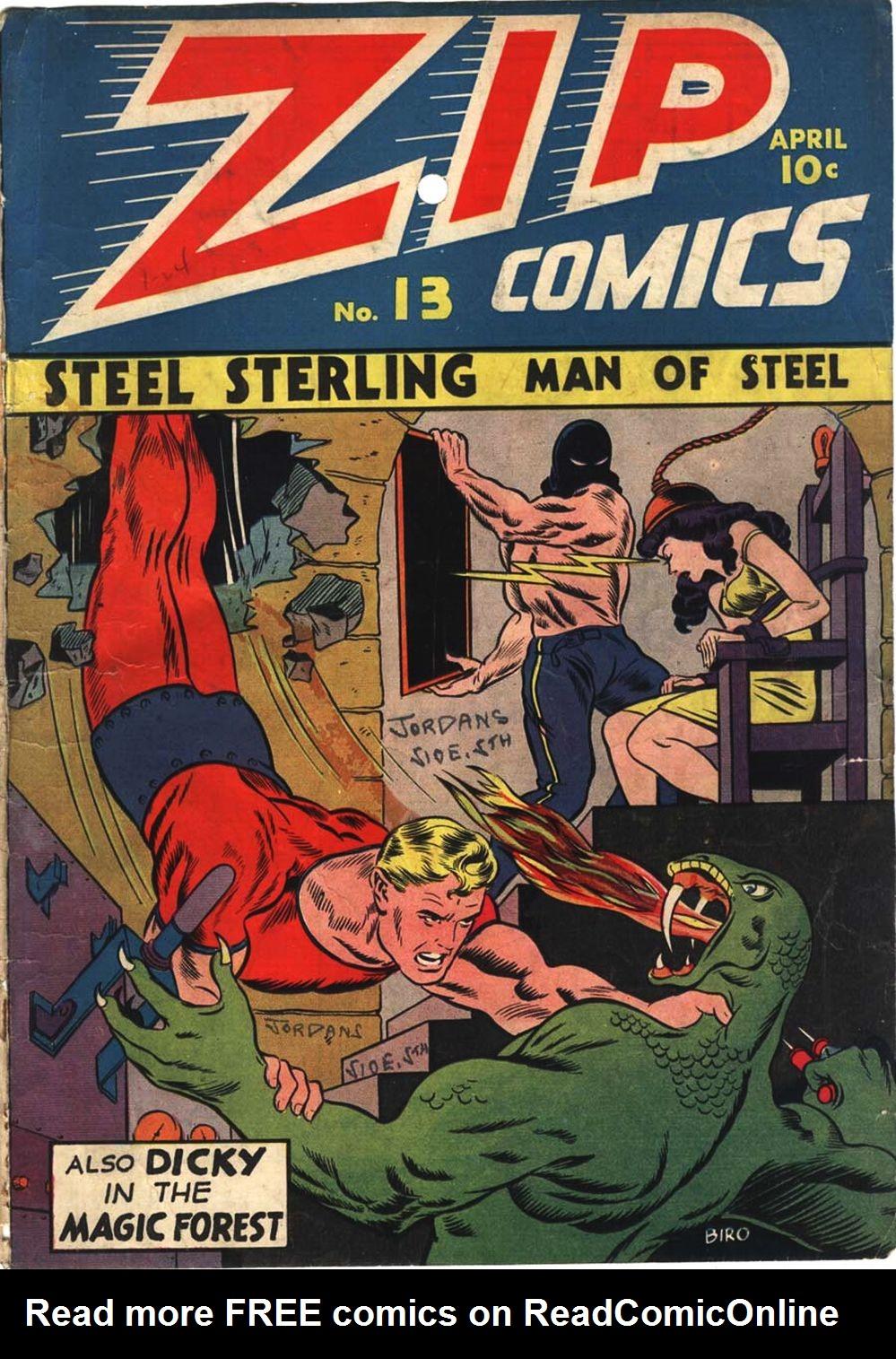 Zip Comics 13 Page 2