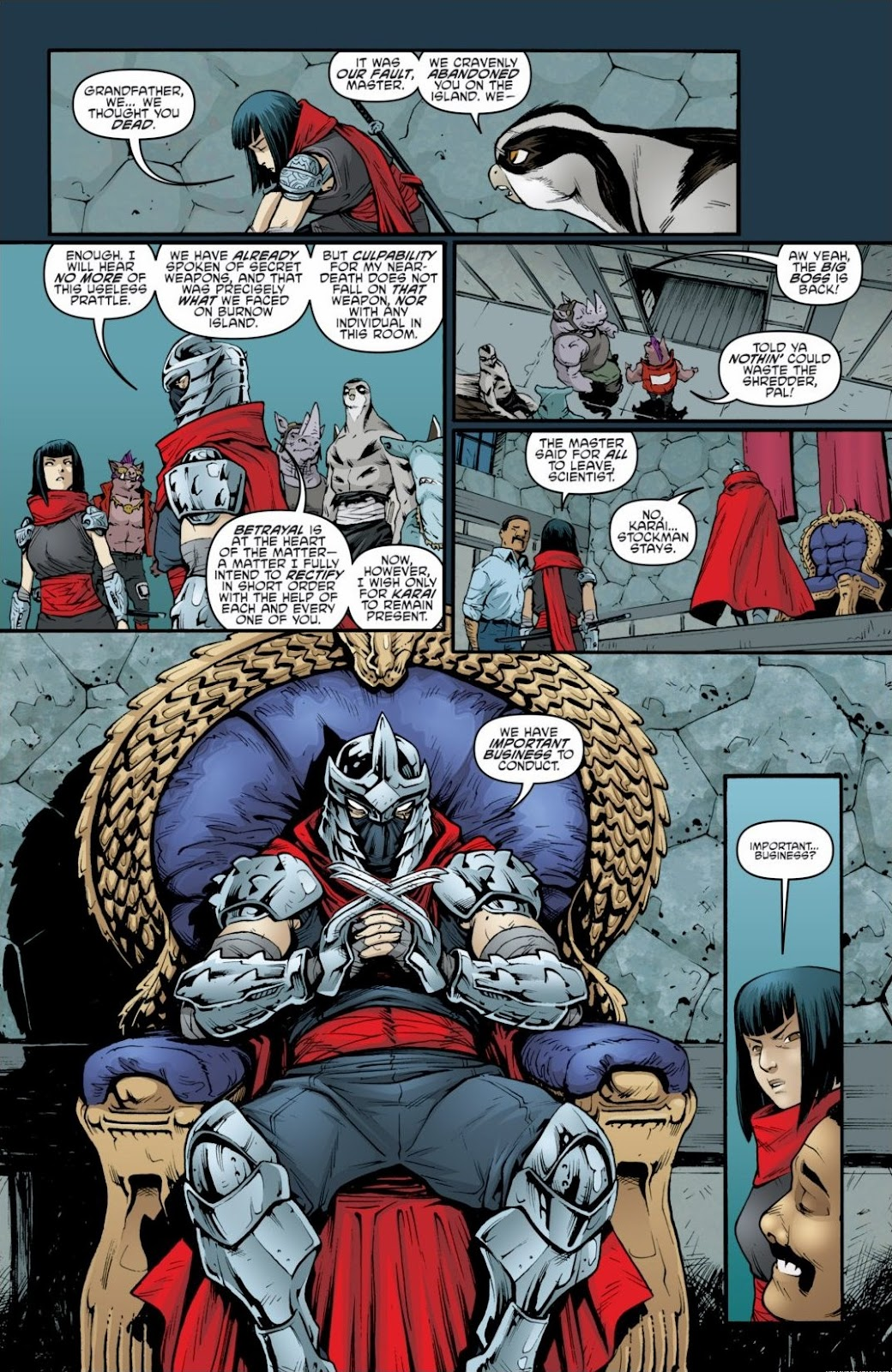 Read online Teenage Mutant Ninja Turtles: The IDW Collection comic -  Issue # TPB 6 (Part 2) - 85