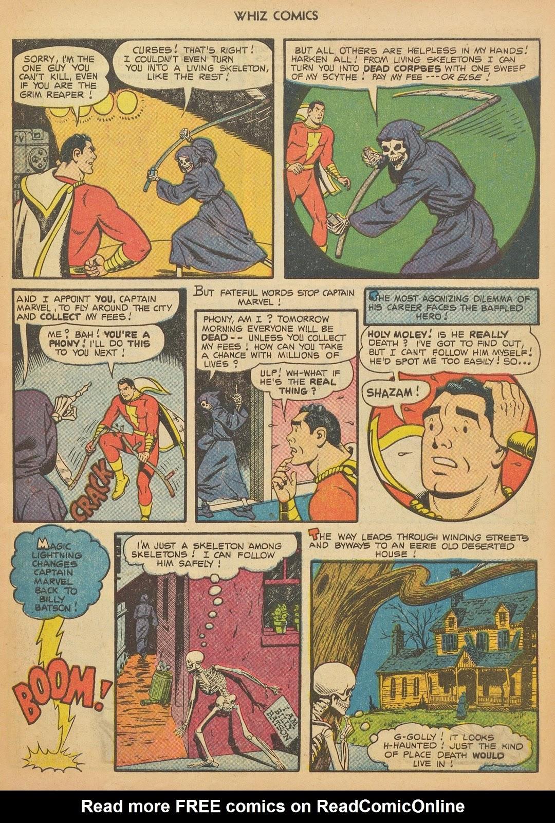 Read online WHIZ Comics comic -  Issue #153 - 7
