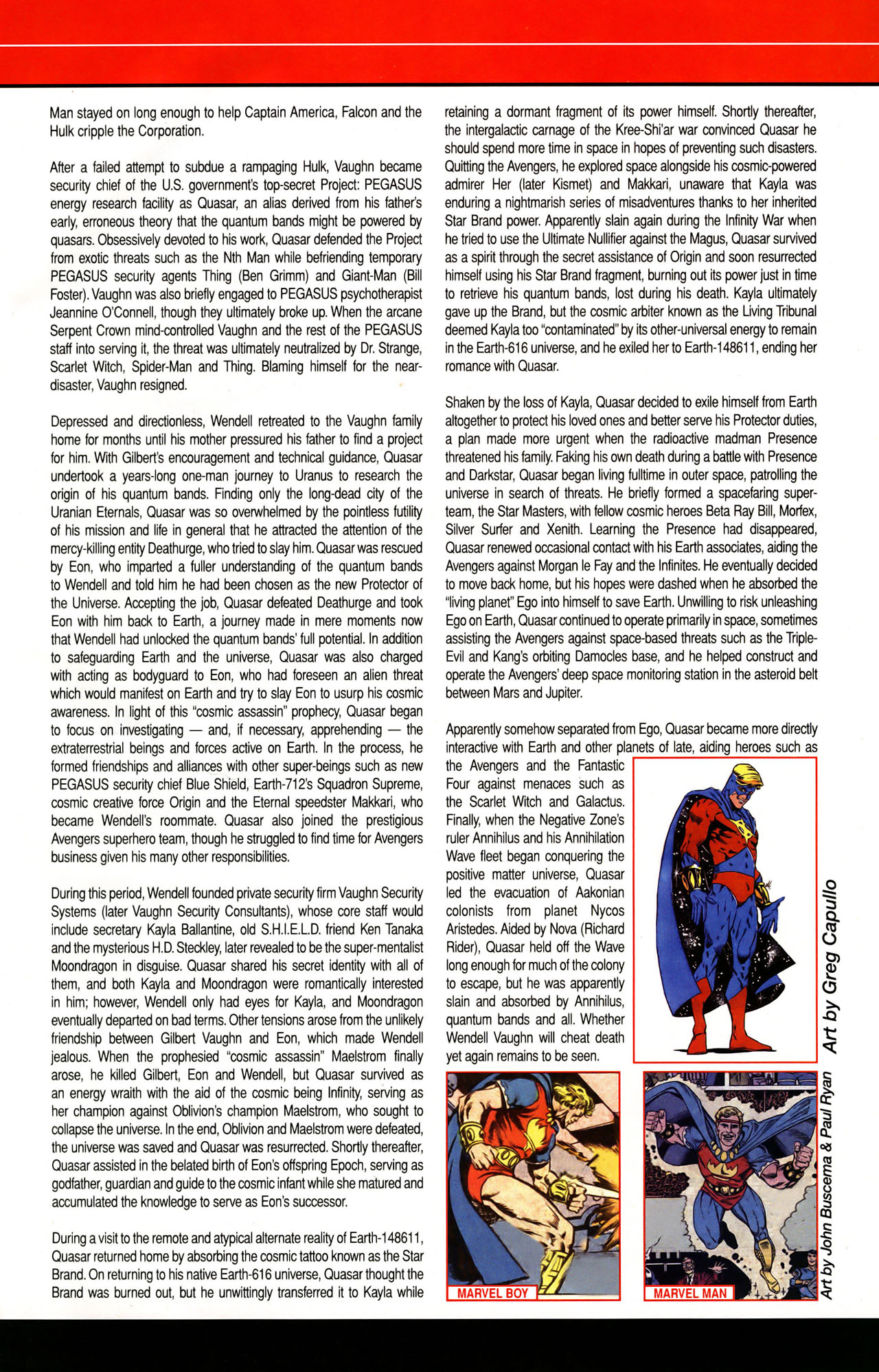 Read online All-New Official Handbook of the Marvel Universe A to Z: Update comic -  Issue #1 - 44