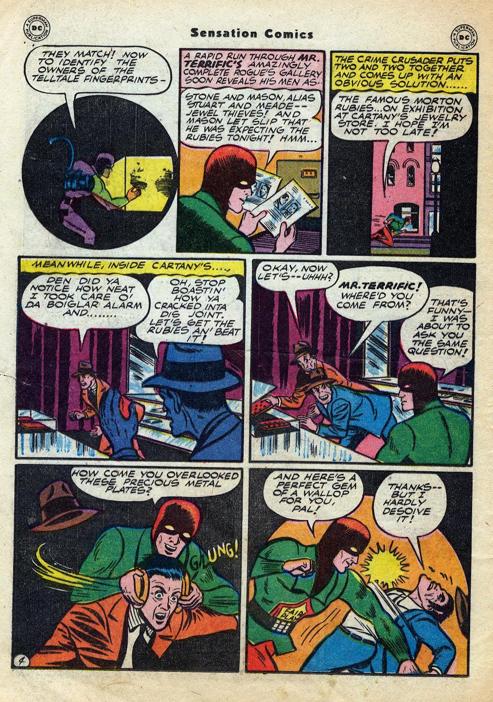 Read online Sensation (Mystery) Comics comic -  Issue #60 - 36