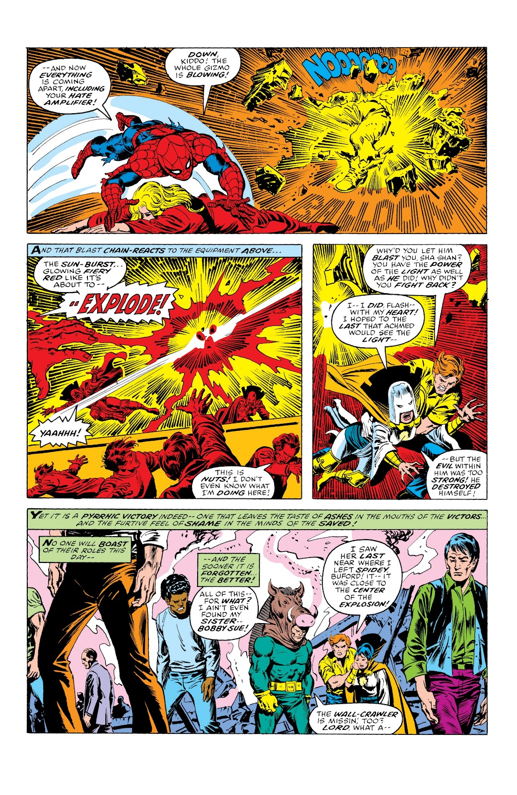 Read online Marvel Masterworks: The Spectacular Spider-Man comic -  Issue # TPB (Part 3) - 62