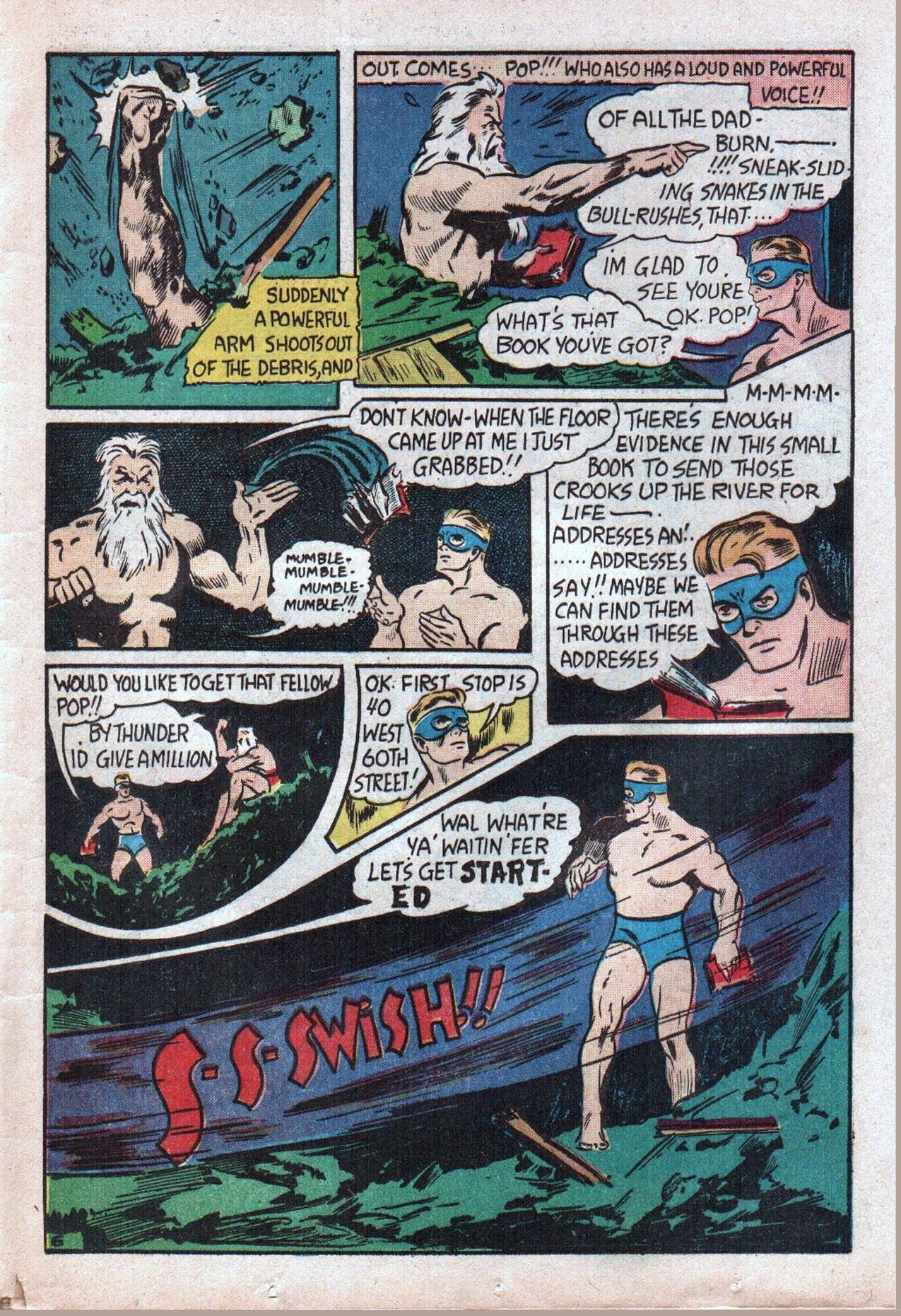 Read online Amazing Man Comics comic -  Issue #20 - 48