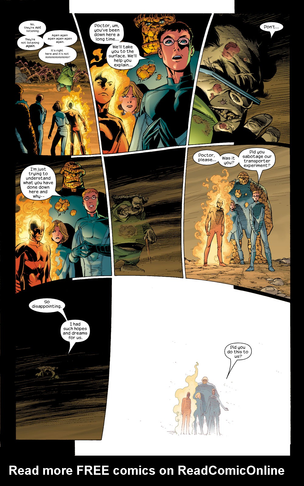 Read online Ultimate Fantastic Four (2004) comic -  Issue #6 - 7