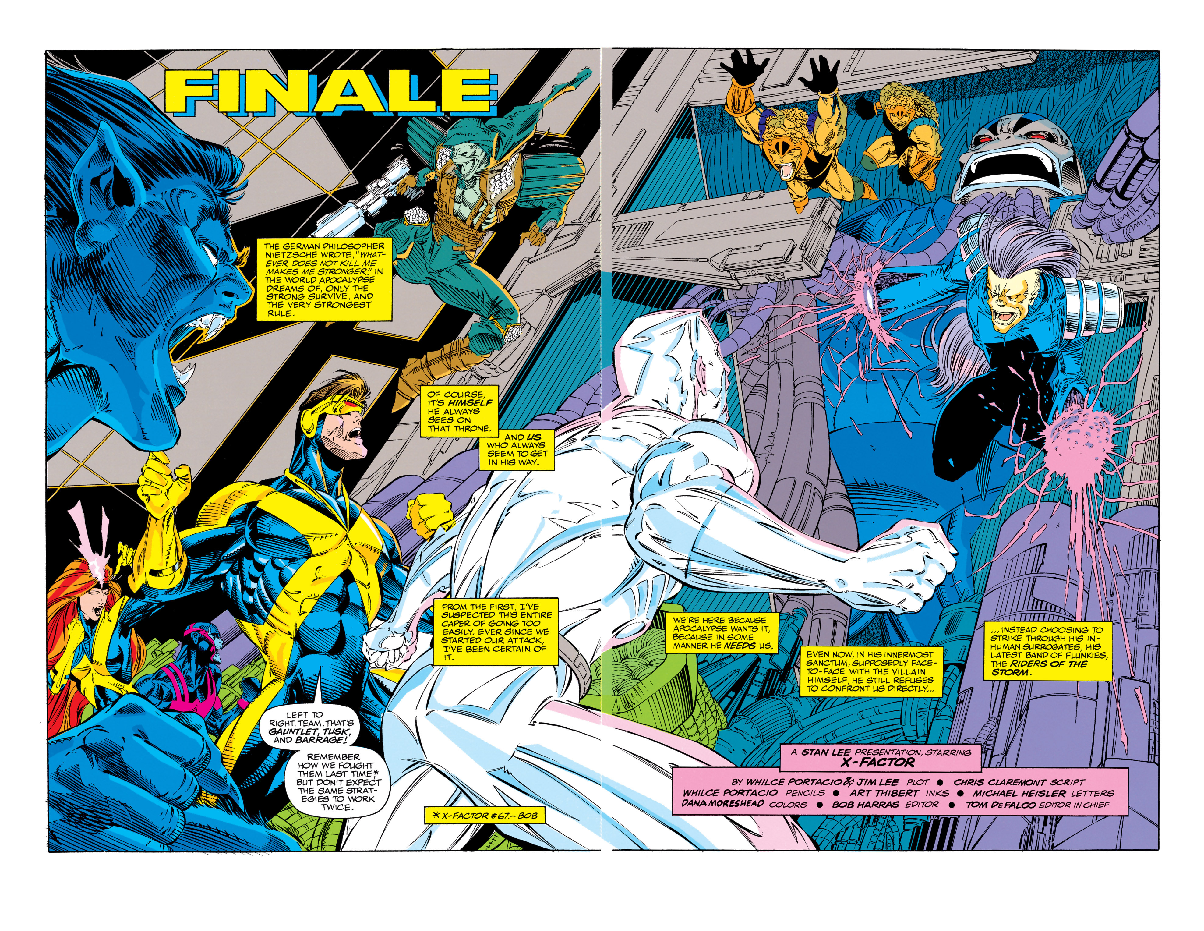 Read online X-Factor (1986) comic -  Issue #68 - 3