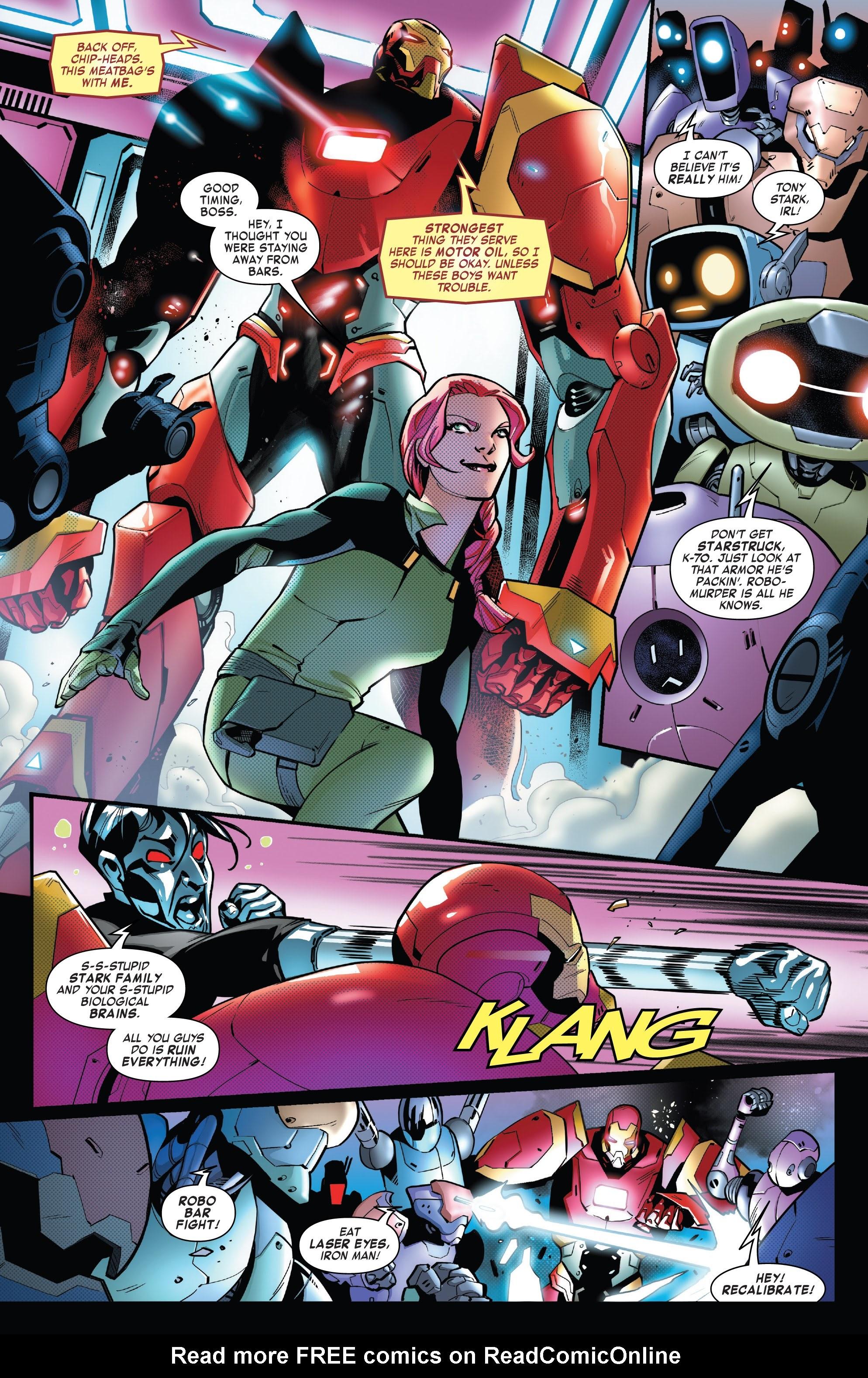 Read online Tony Stark: Iron Man comic -  Issue #16 - 9