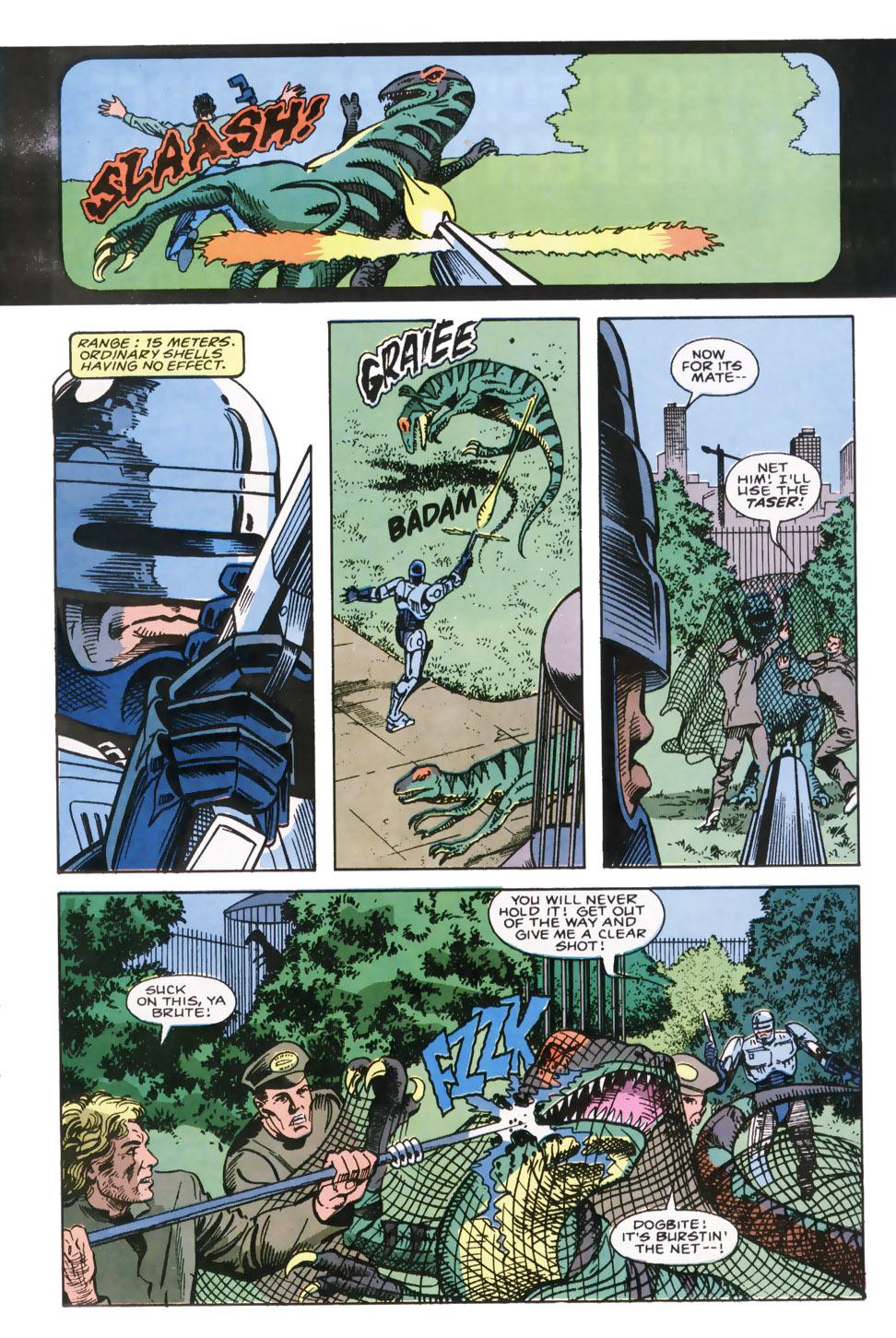 Read online Robocop (1990) comic -  Issue #7 - 4