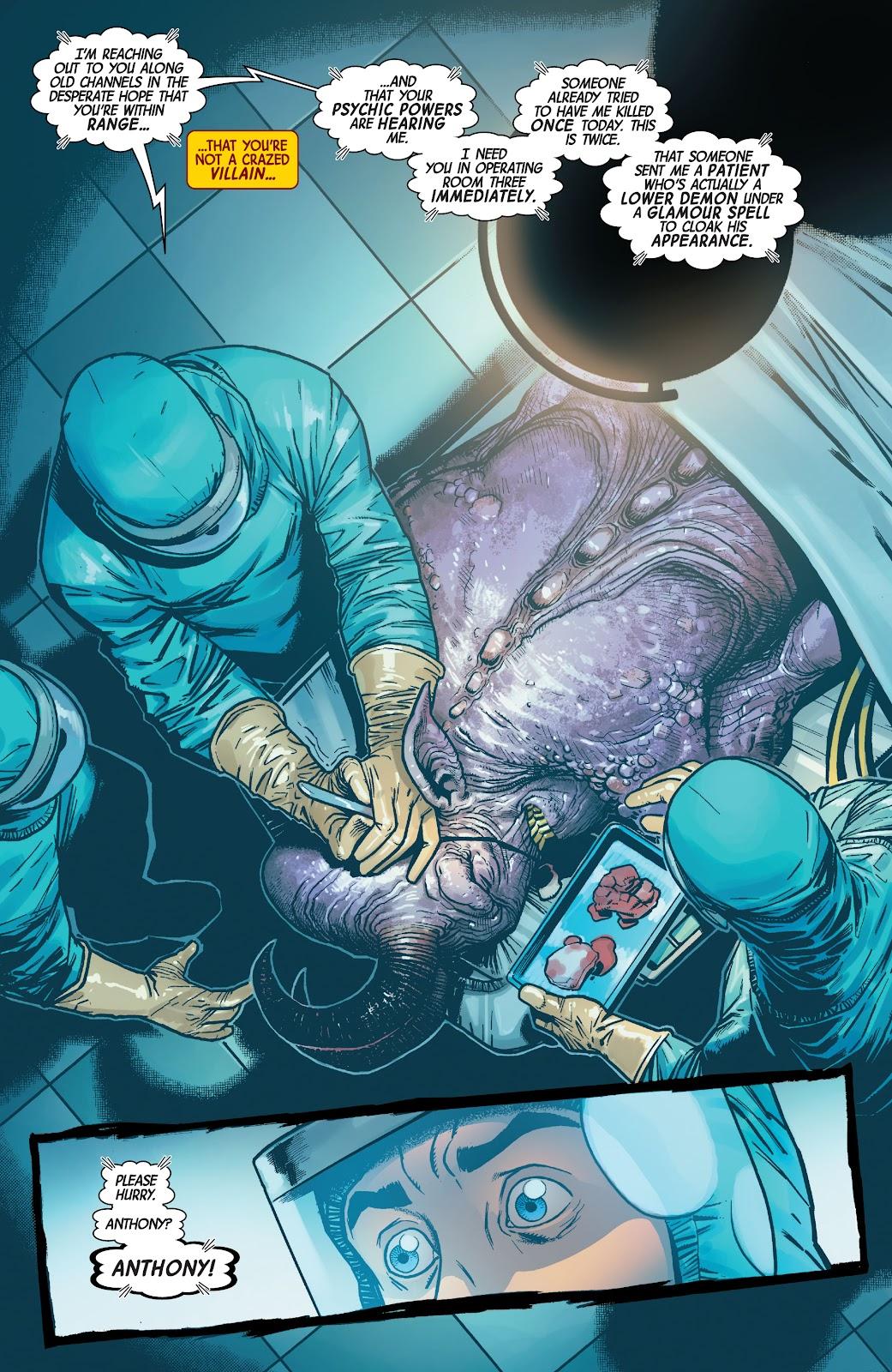 Read online Dr. Strange comic -  Issue #4 - 14
