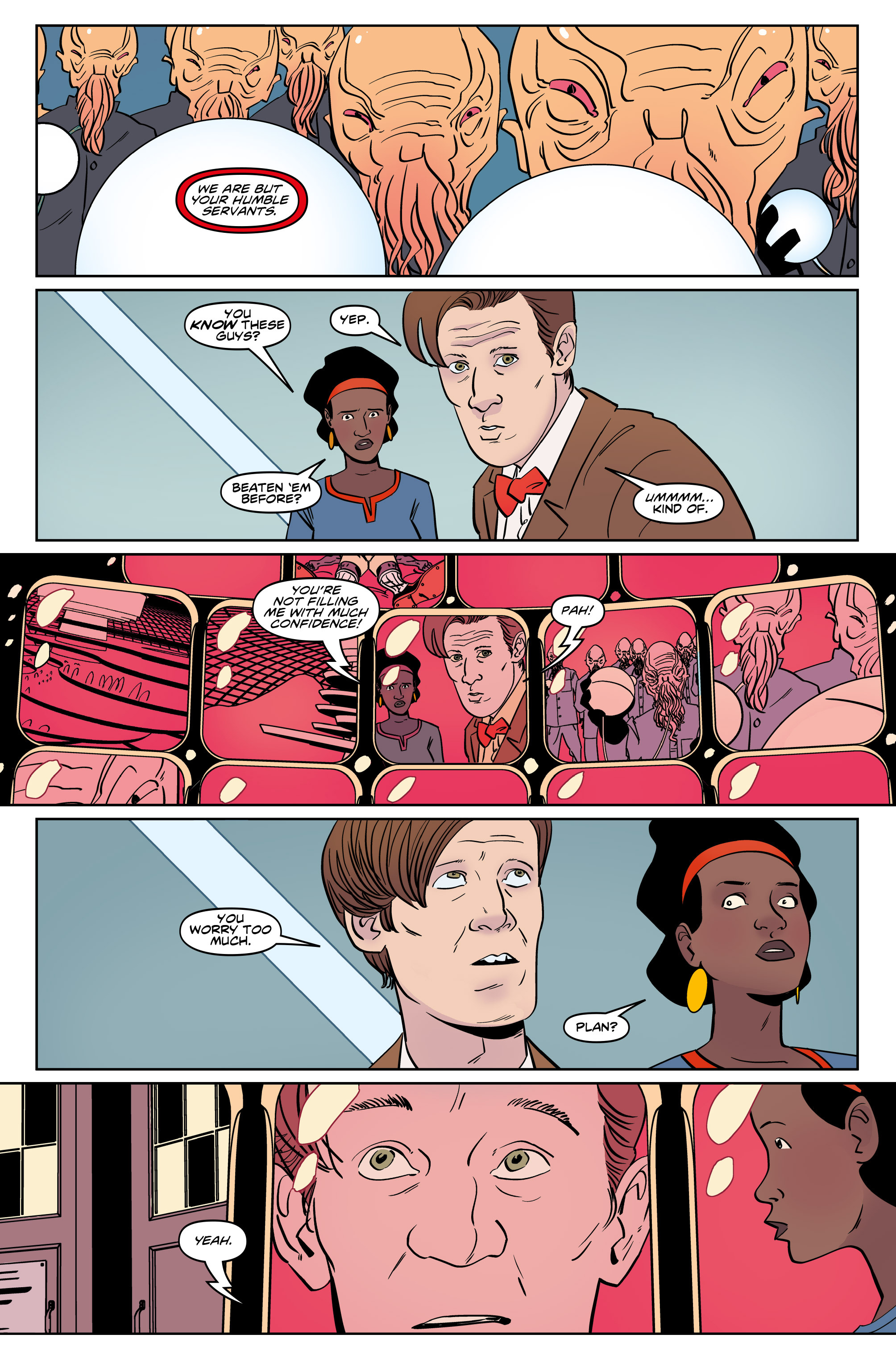 Read online Doctor Who: The Eleventh Doctor Year Three comic -  Issue #5 - 11
