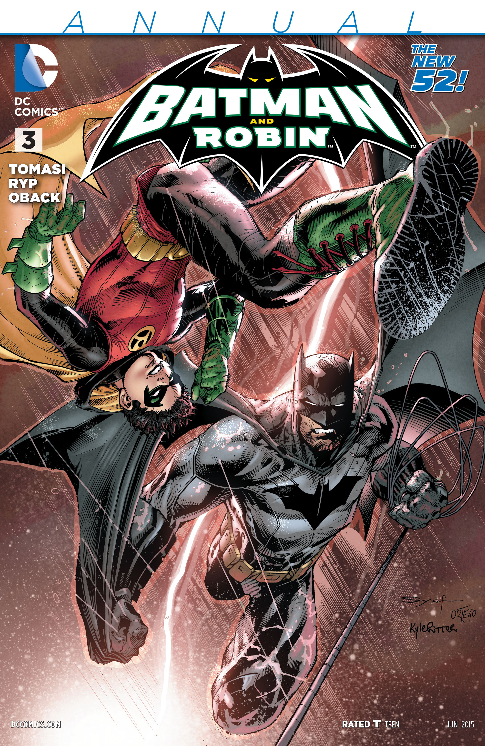 Read online Batman and Robin (2011) comic -  Issue # Annual 3 - 1