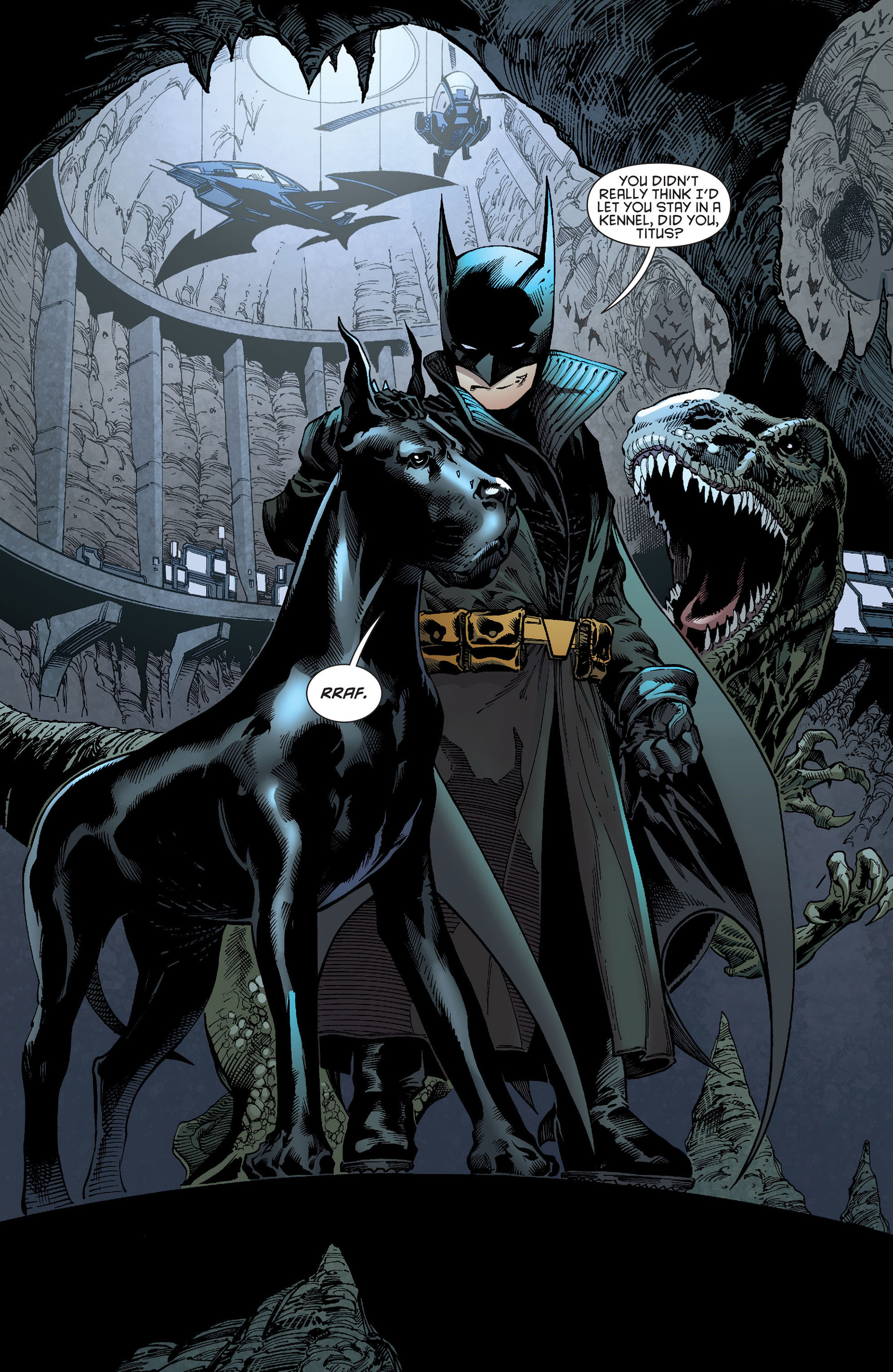 Read online Batman and Robin (2011) comic -  Issue # Annual 1 - 8