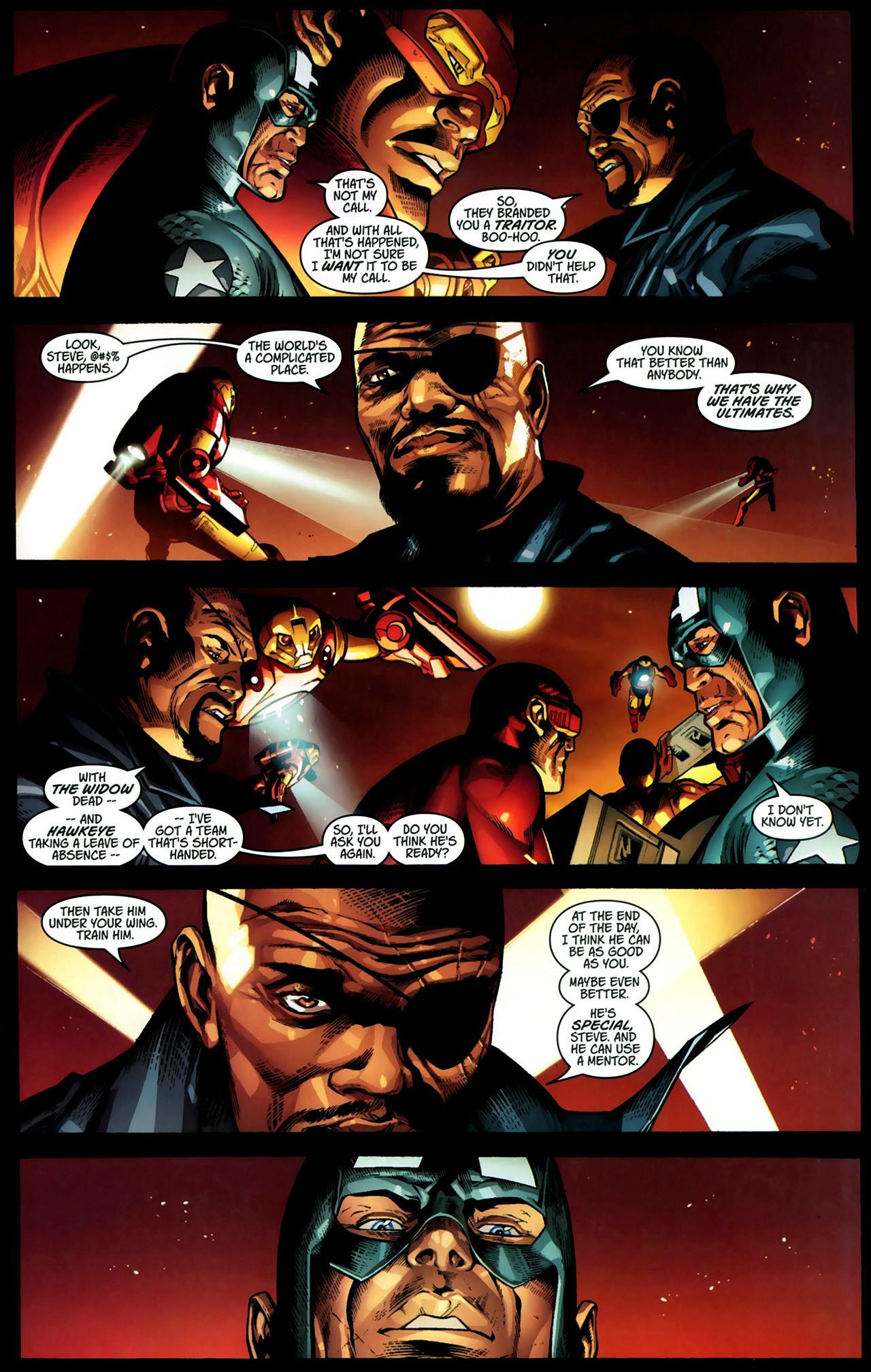 Read online Ultimate Captain America (2008) comic -  Issue # Full - 17