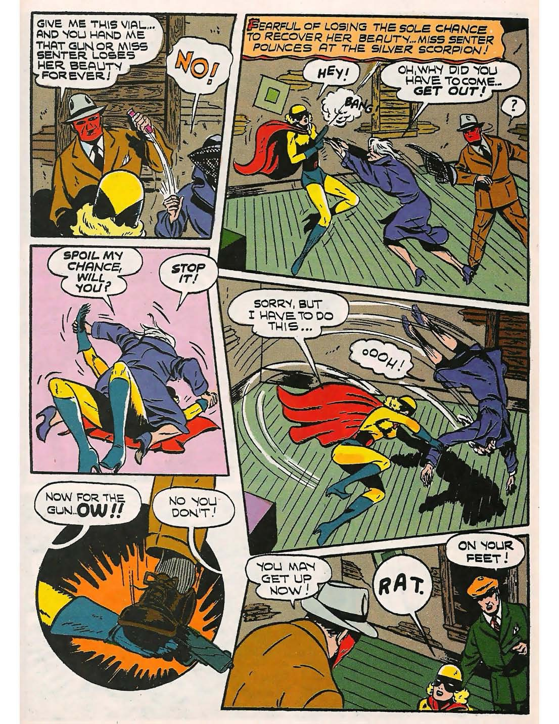 Read online Comedy Comics (1942) comic -  Issue #9 - 6