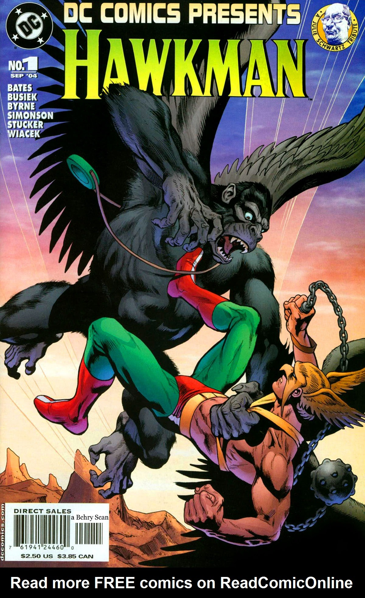 DC Comics Presents (2004) Hawkman Page 1