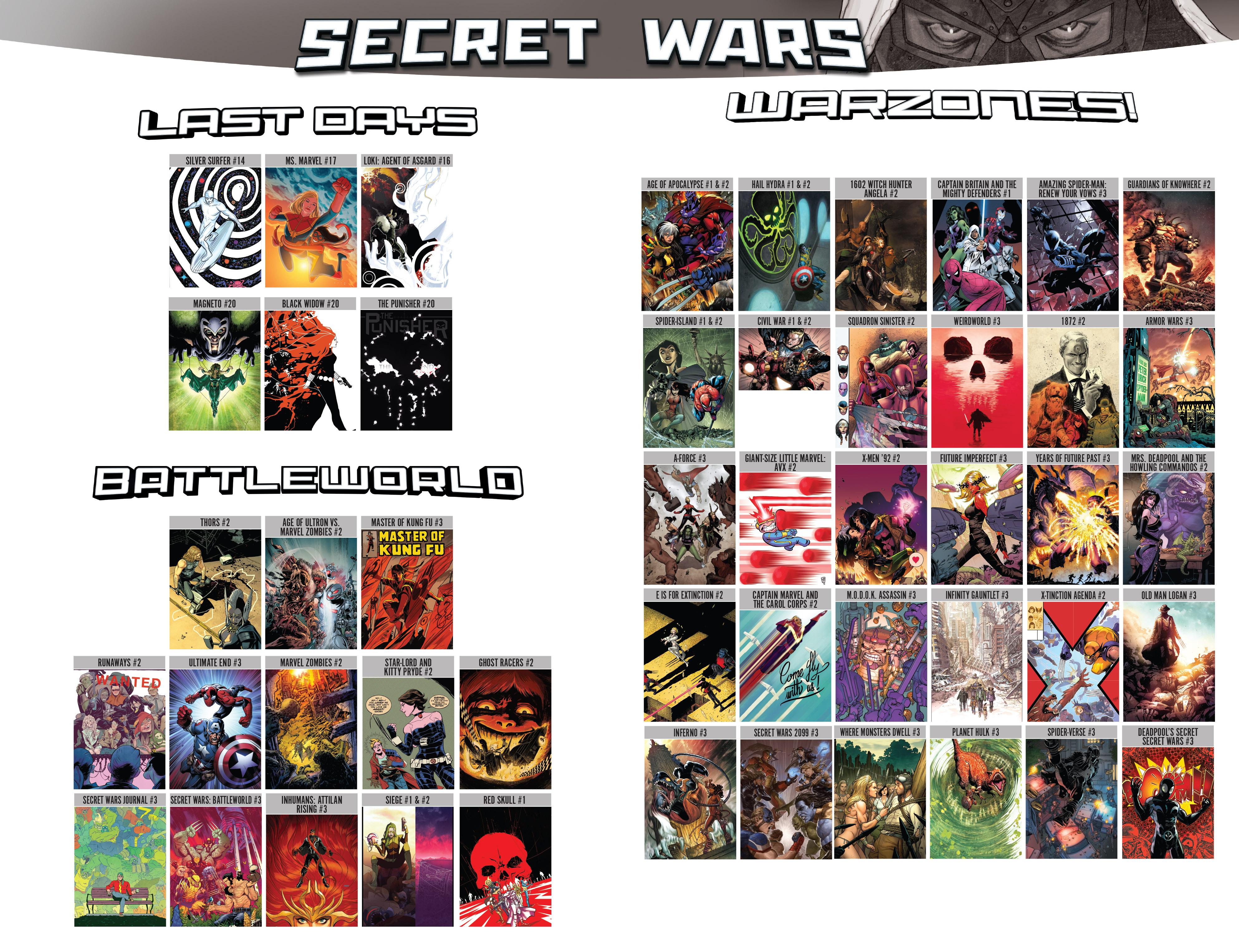 Read online Secret Wars comic -  Issue #4 - 33