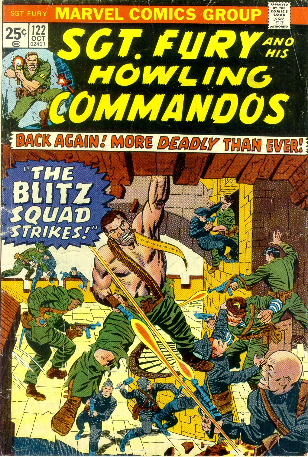 Read online Sgt. Fury comic -  Issue #122 - 1
