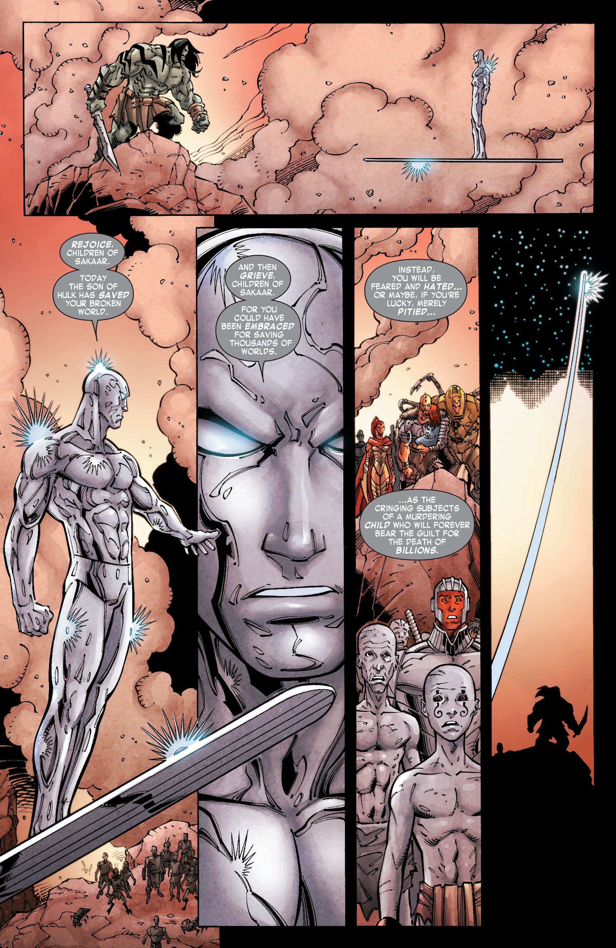 Read online Skaar: Son of Hulk comic -  Issue #10 - 21