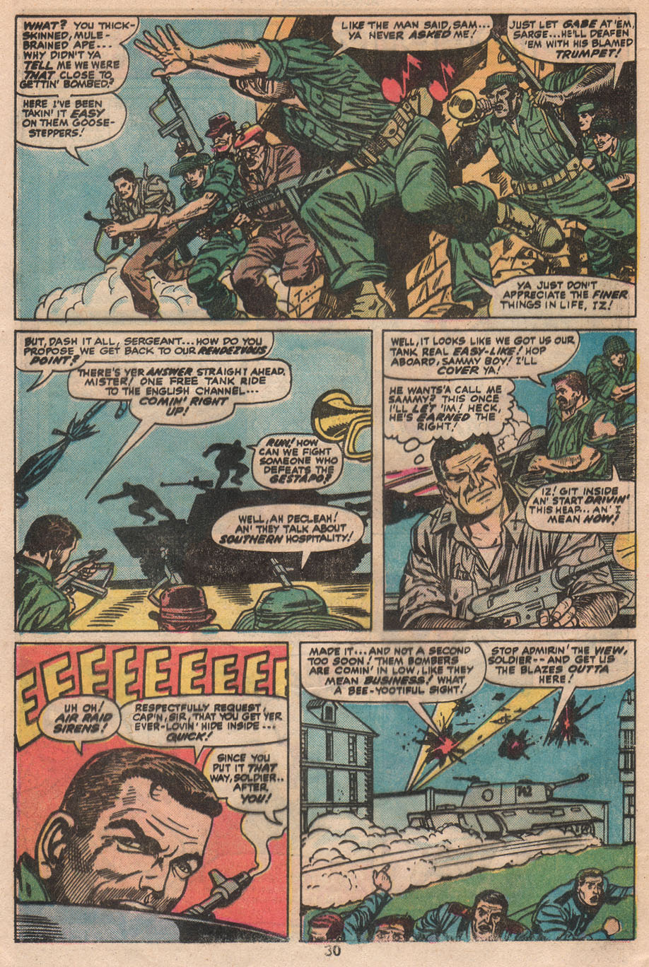 Read online Sgt. Fury comic -  Issue #133 - 32