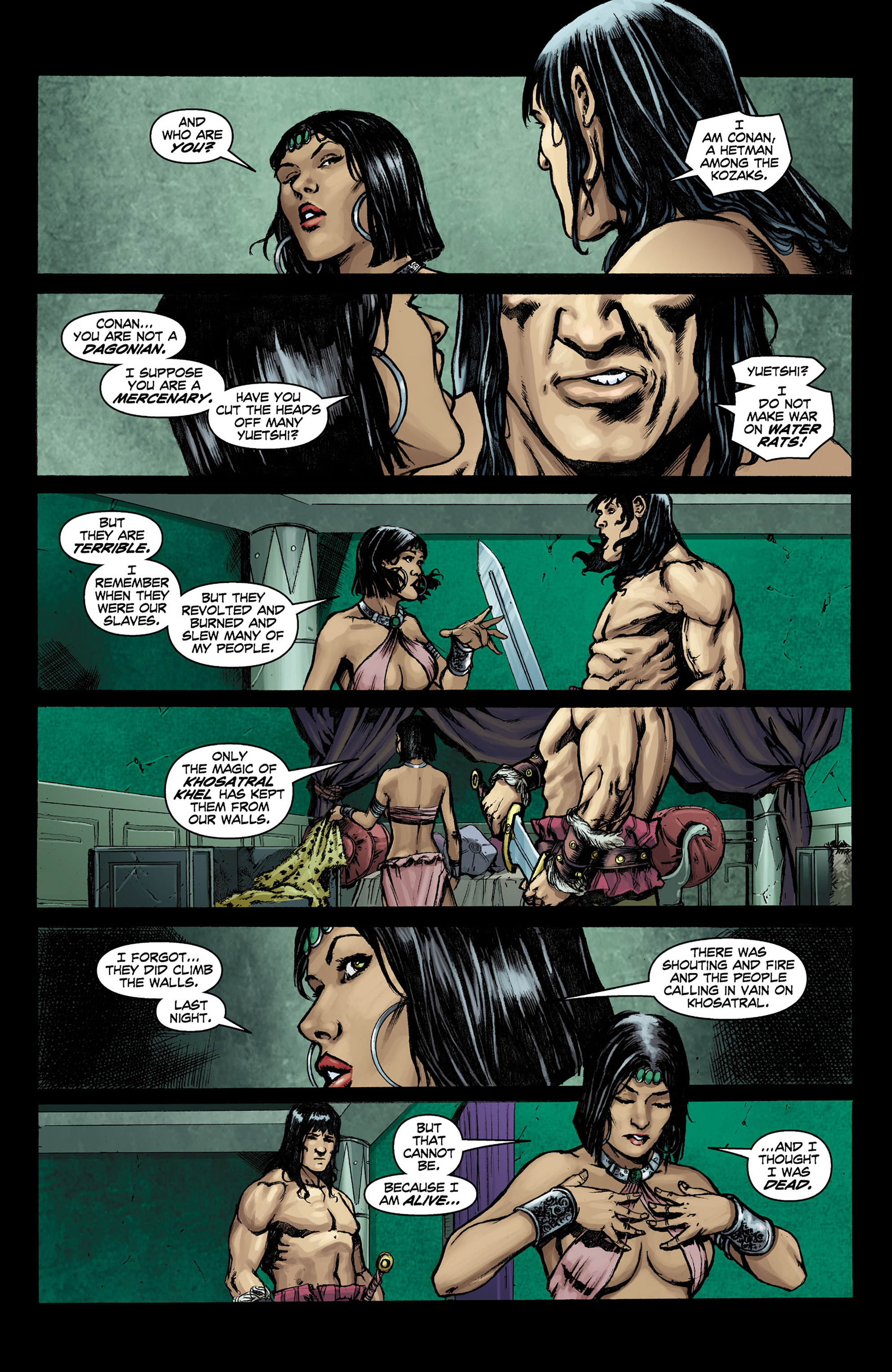 Read online Conan The Slayer comic -  Issue #9 - 9