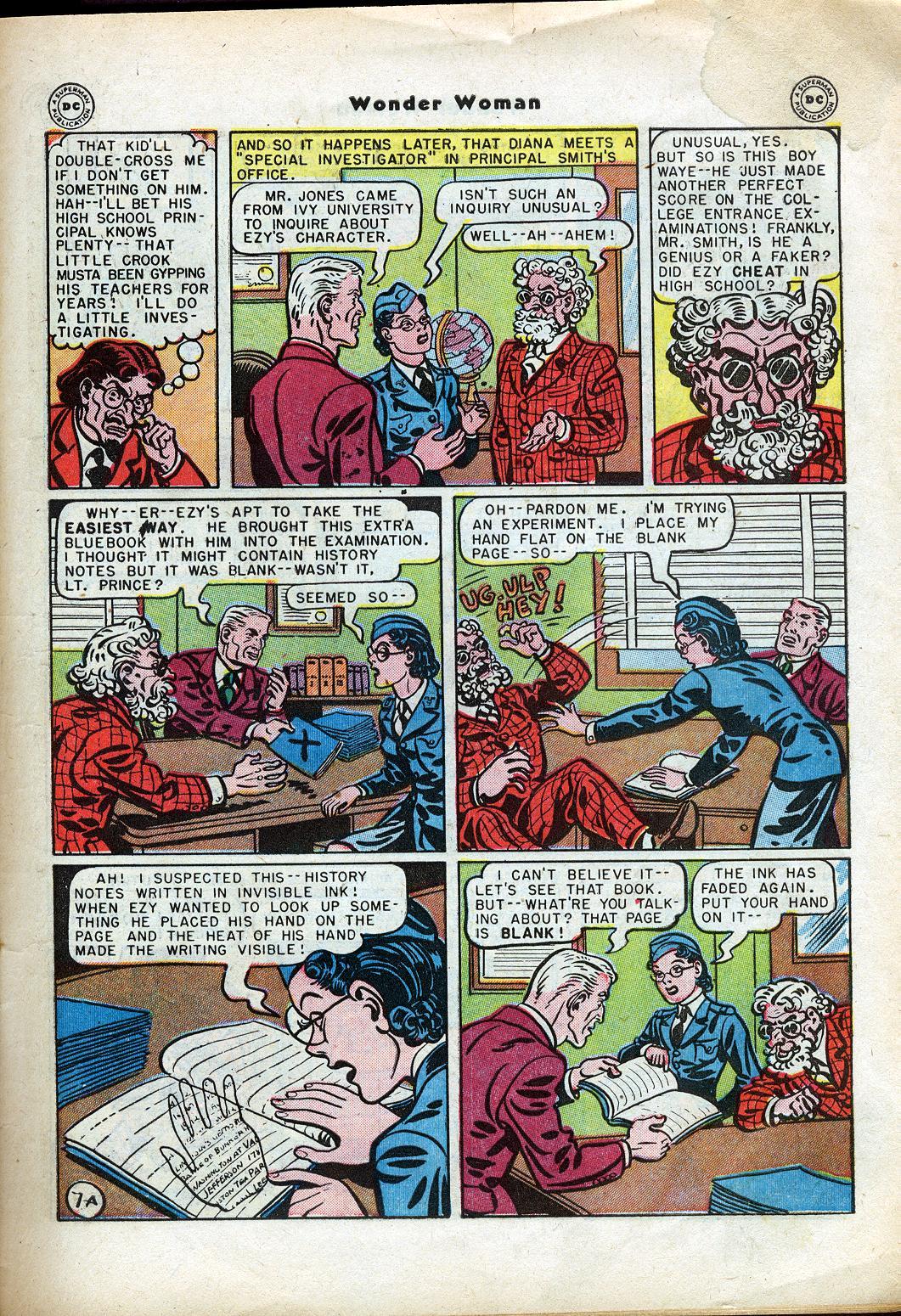 Read online Wonder Woman (1942) comic -  Issue #24 - 9