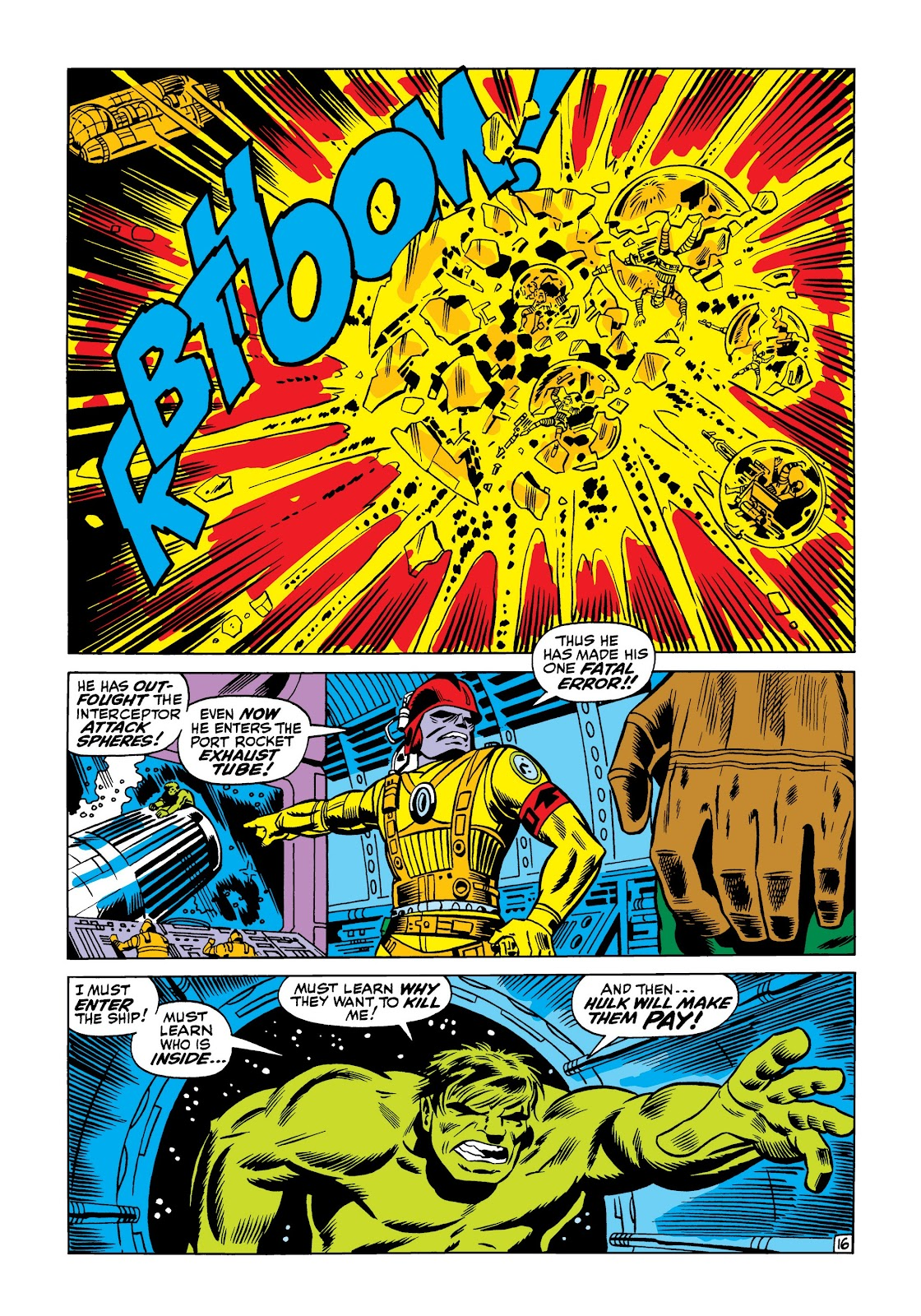 Read online Marvel Masterworks: The Incredible Hulk comic -  Issue # TPB 5 (Part 1) - 22