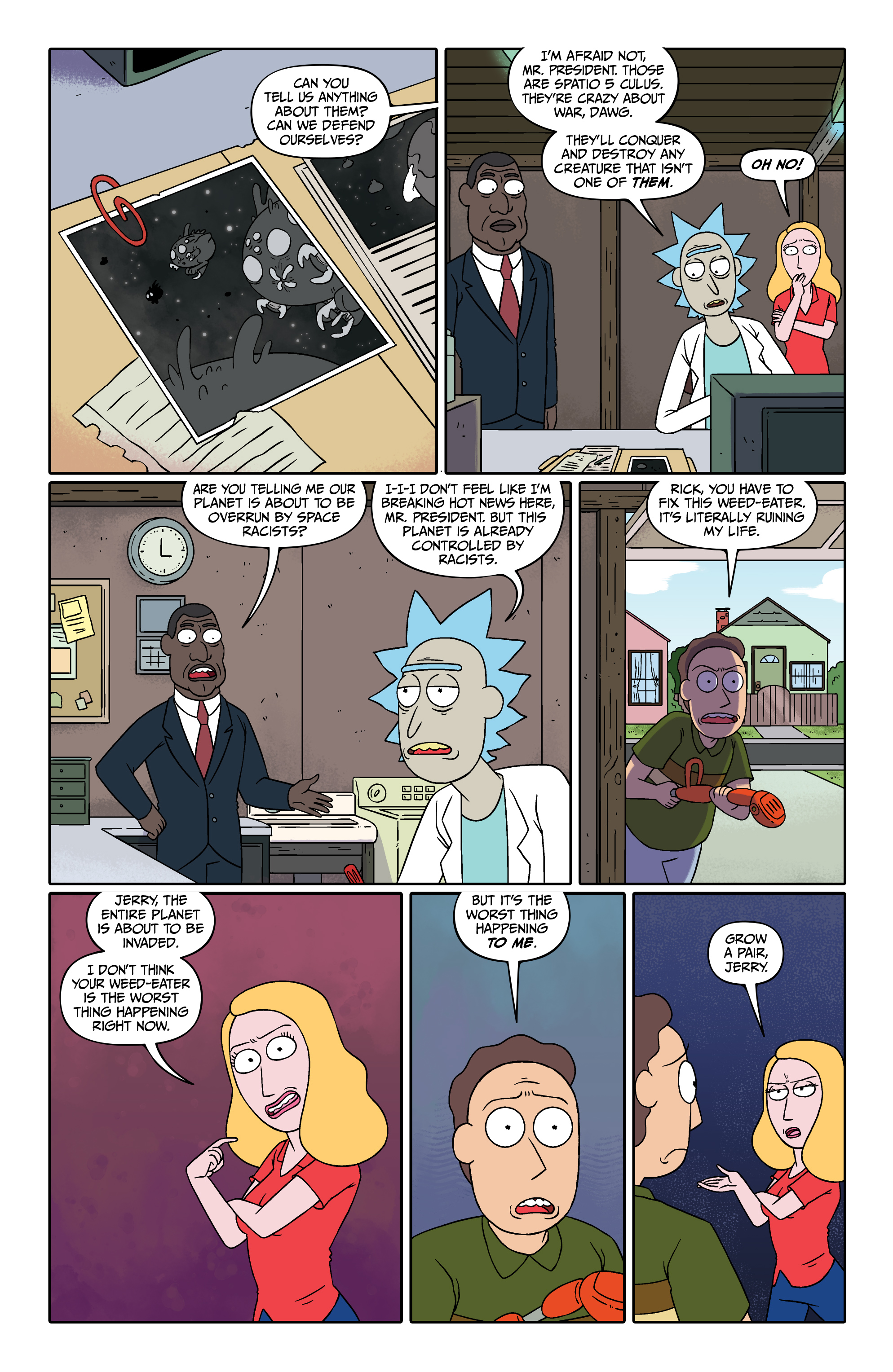 Read online Rick and Morty comic -  Issue #26 - 11