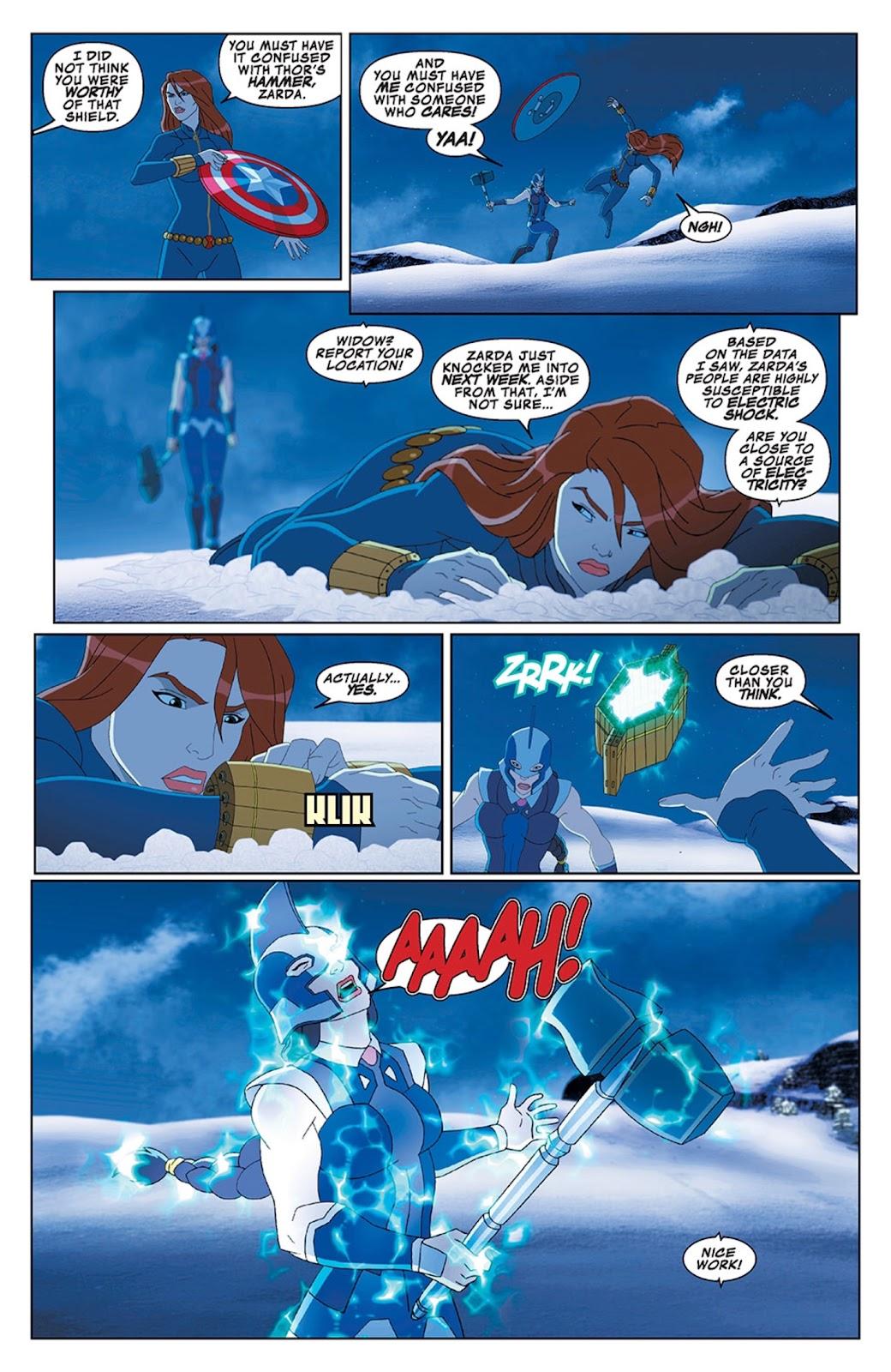 Read online Marvel Universe Avengers Assemble Season 2 comic -  Issue #13 - 11