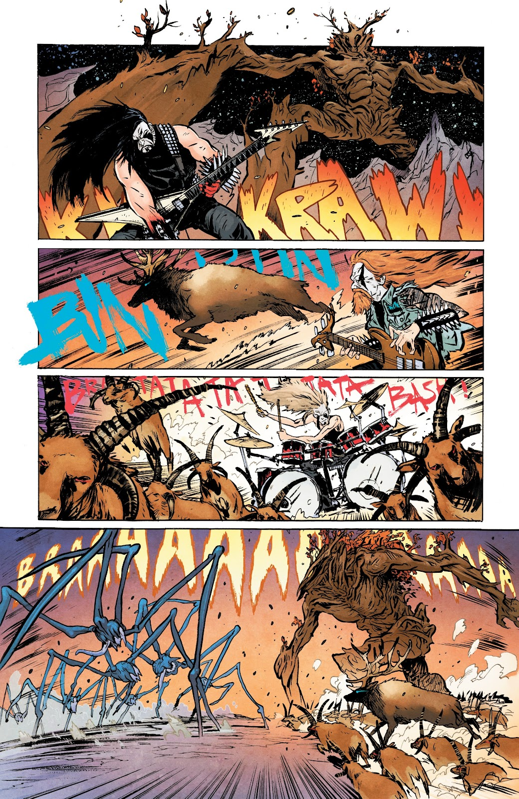 Read online Murder Falcon comic -  Issue #5 - 5