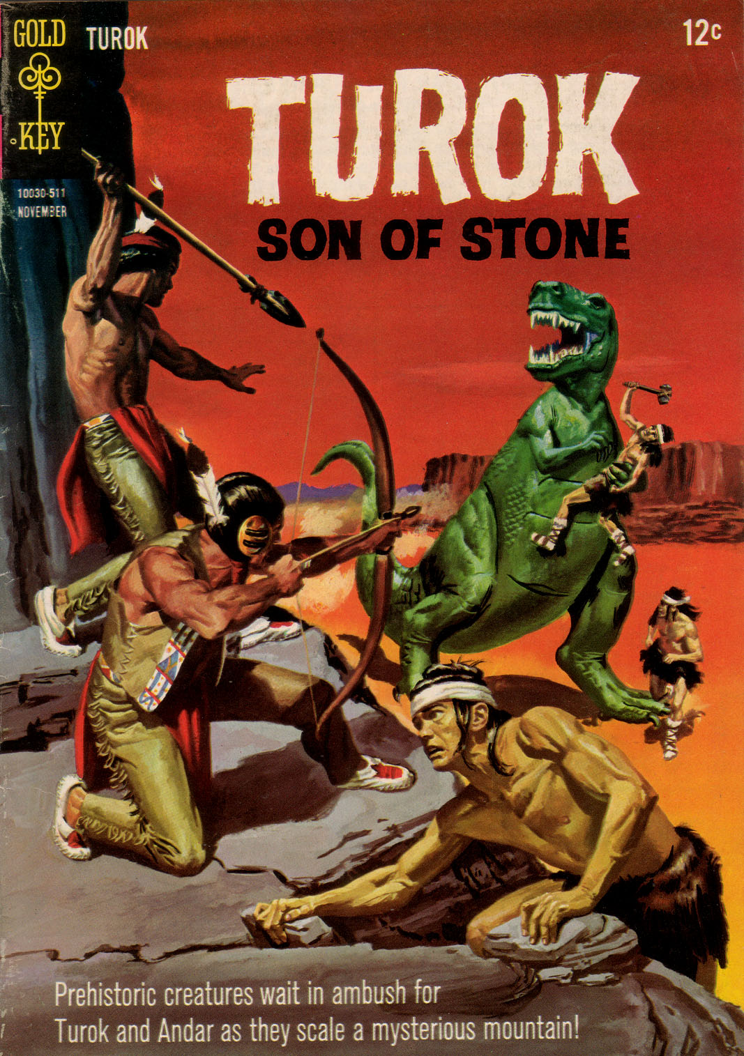 Read online Turok, Son of Stone comic -  Issue #48 - 1