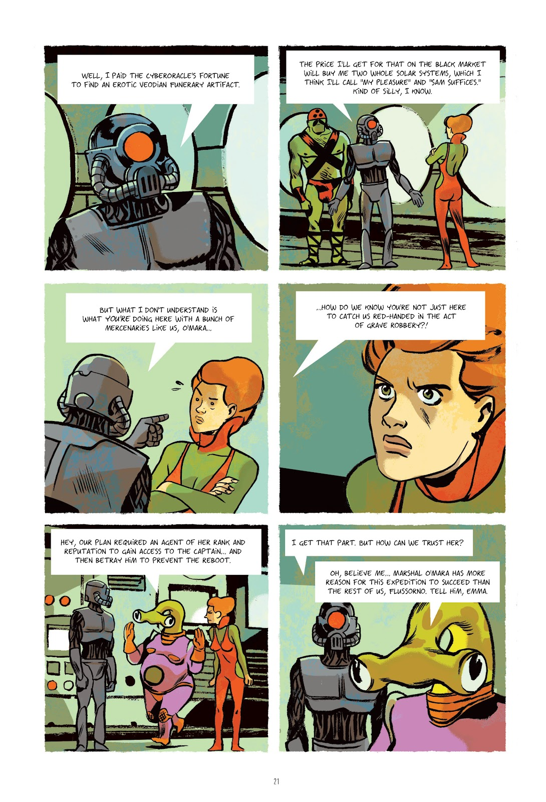 Read online Infinity 8 comic -  Issue # _TPB 3 - 22