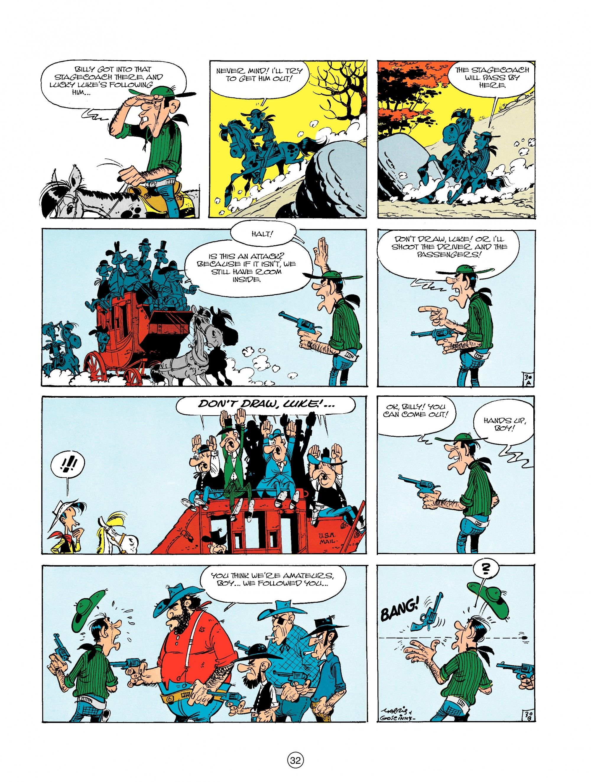 Read online A Lucky Luke Adventure comic -  Issue #18 - 32