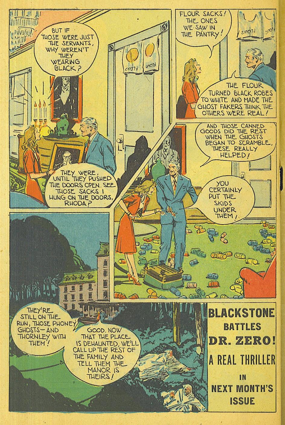 Read online Super-Magician Comics comic -  Issue #39 - 49