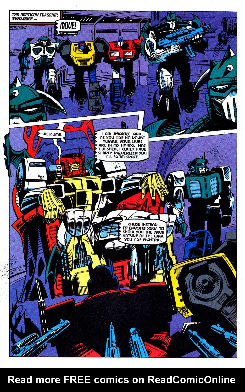Read online Transformers: Generation 2 comic -  Issue #1 - 26