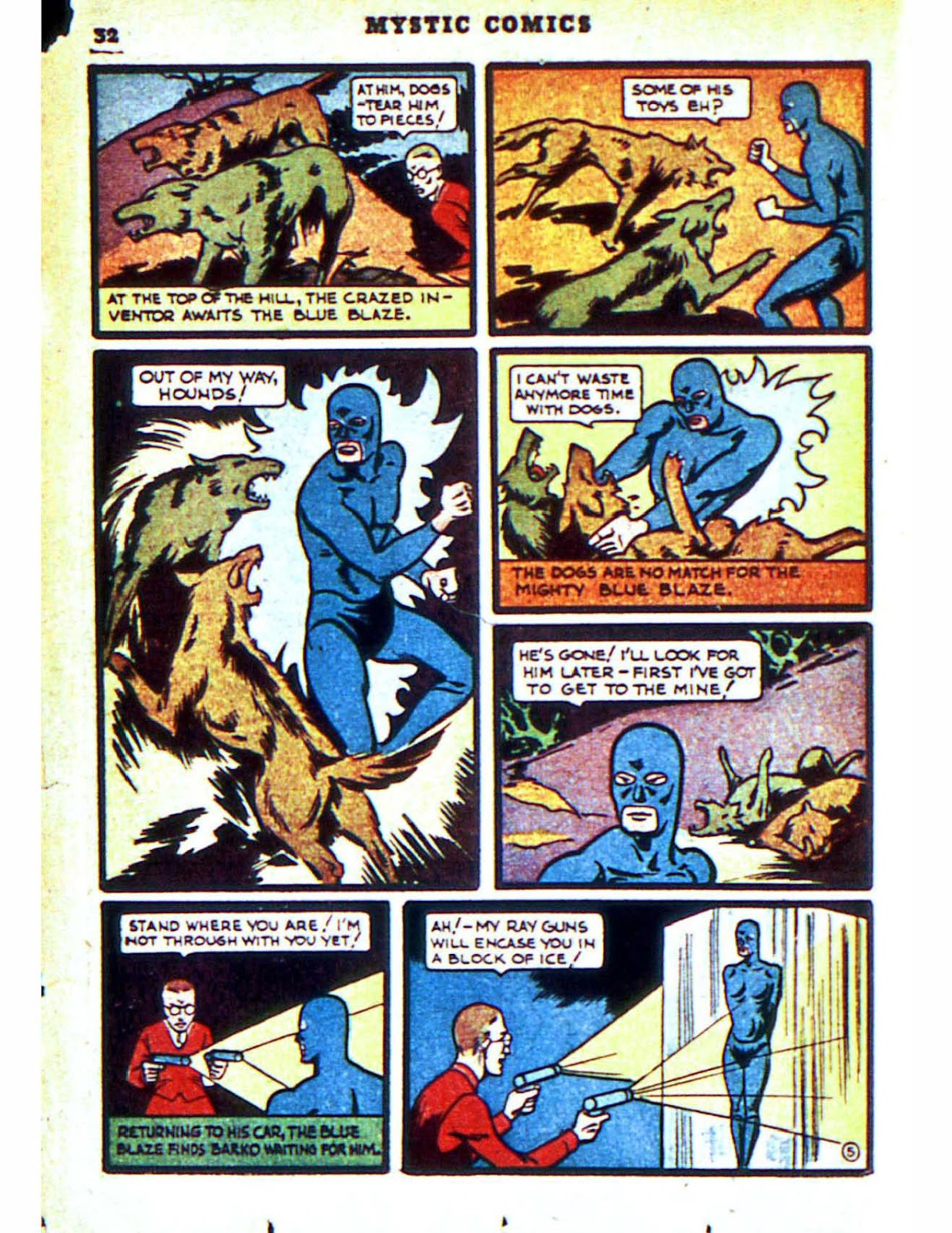 Mystic Comics (1940) issue 2 - Page 34