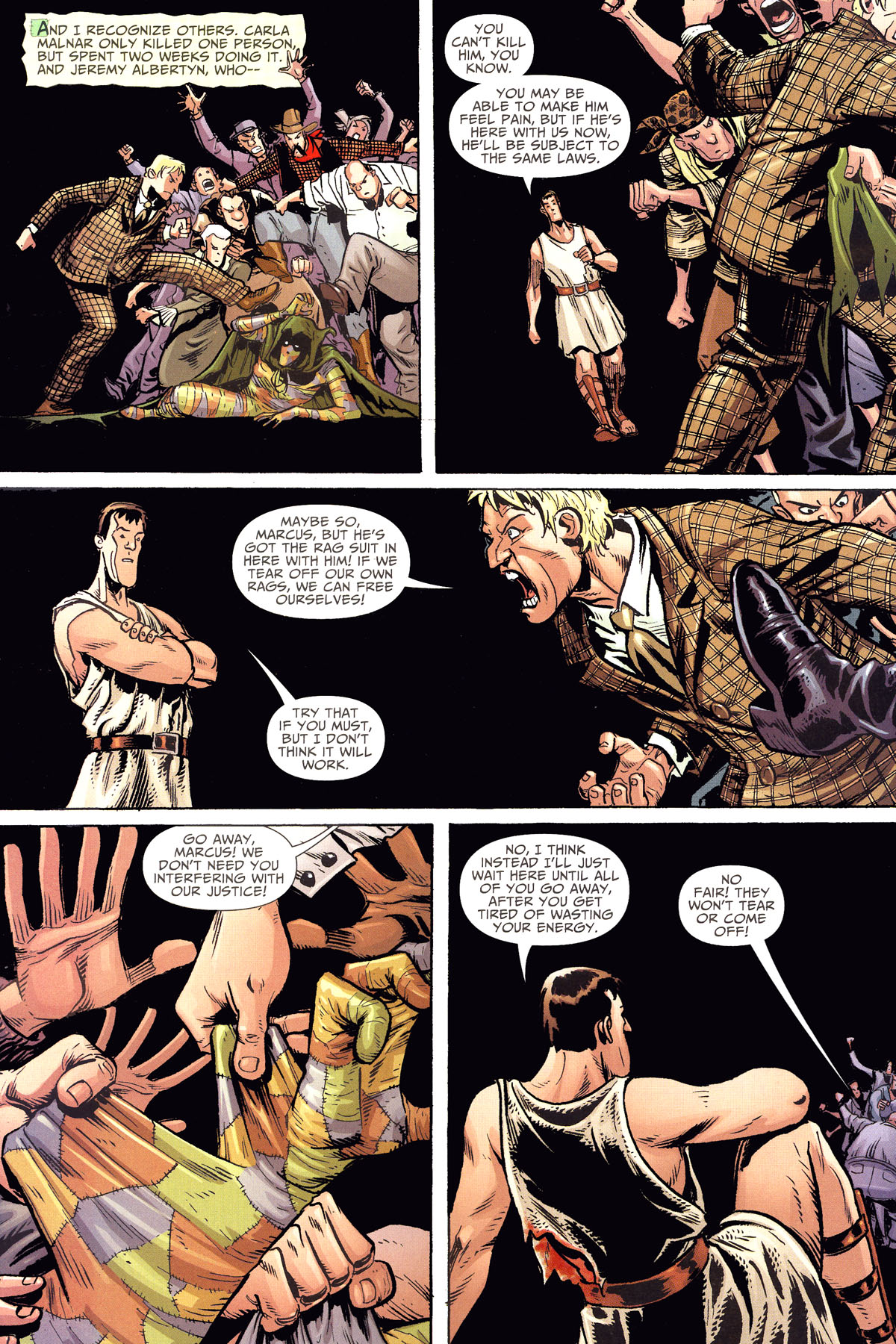 Read online Shadowpact comic -  Issue #8 - 13