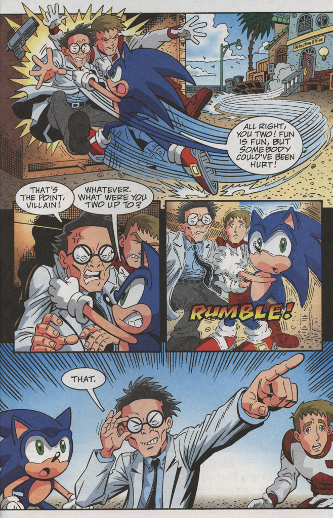Read online Sonic X comic -  Issue #38 - 31
