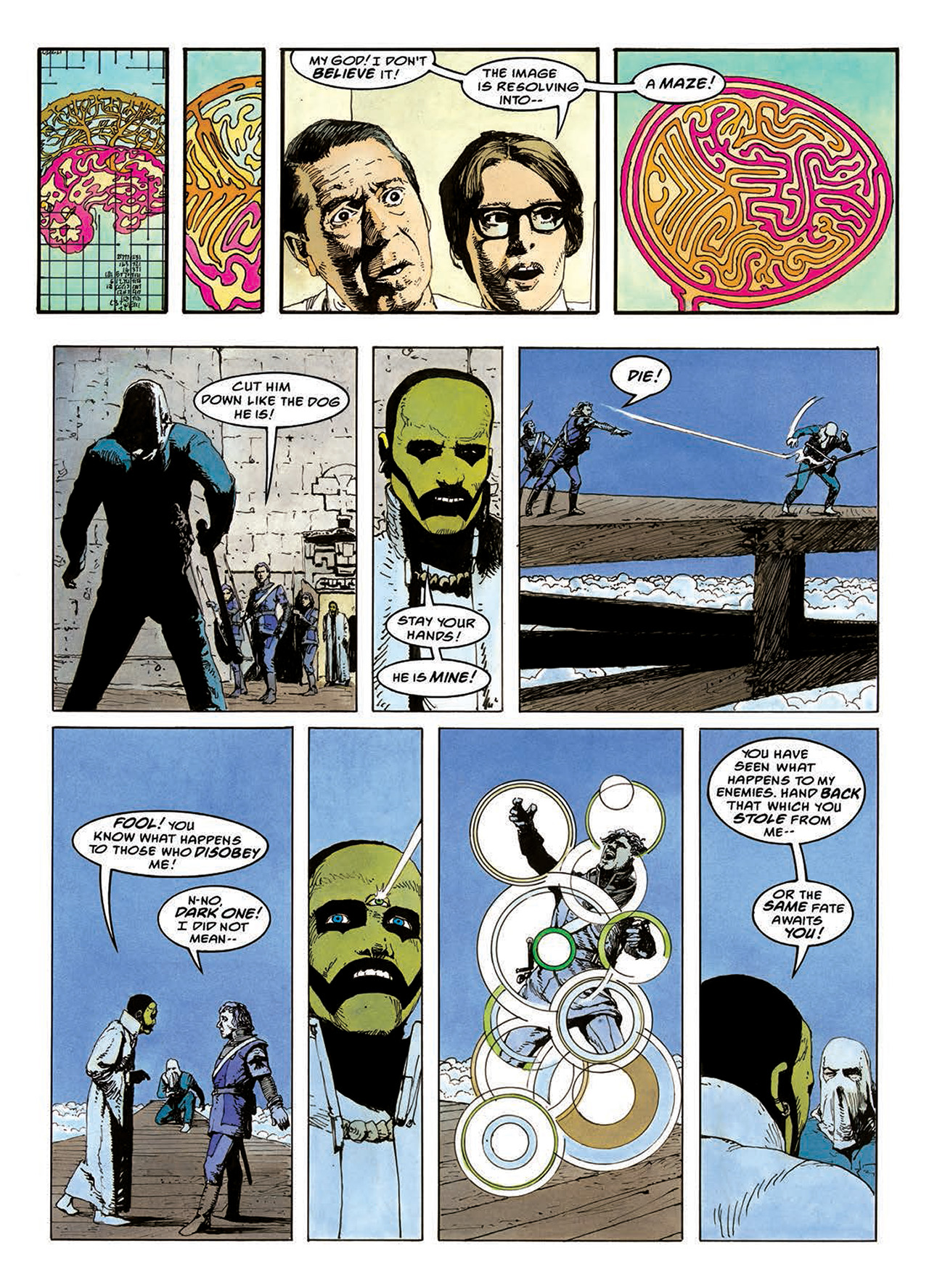 Read online Mazeworld comic -  Issue # TPB - 89