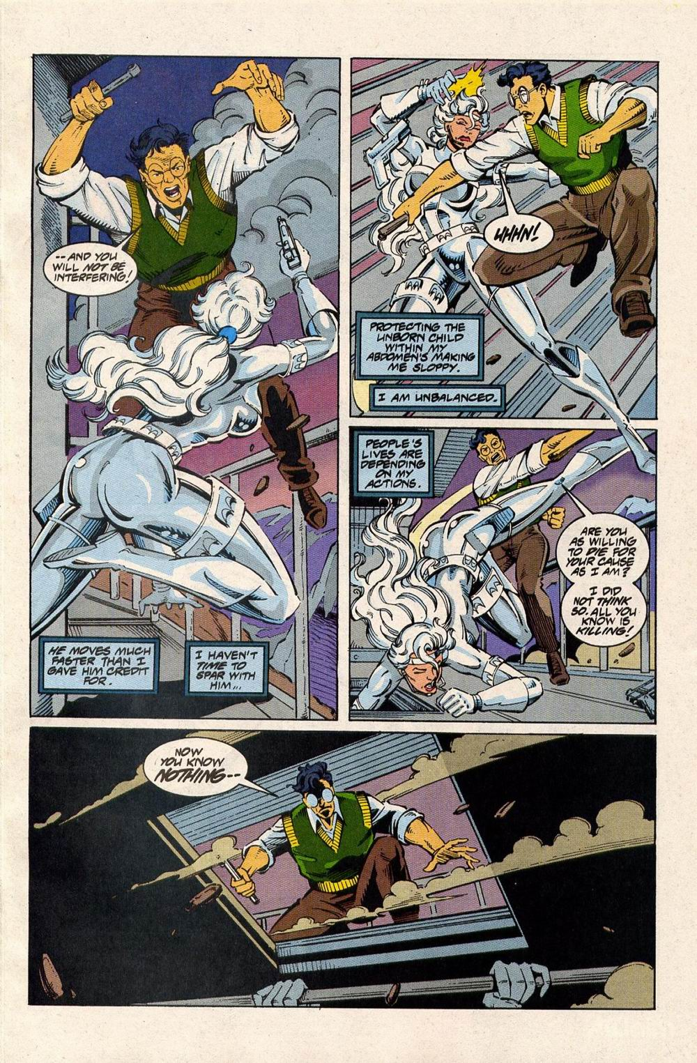 Read online Silver Sable and the Wild Pack comic -  Issue #33 - 4