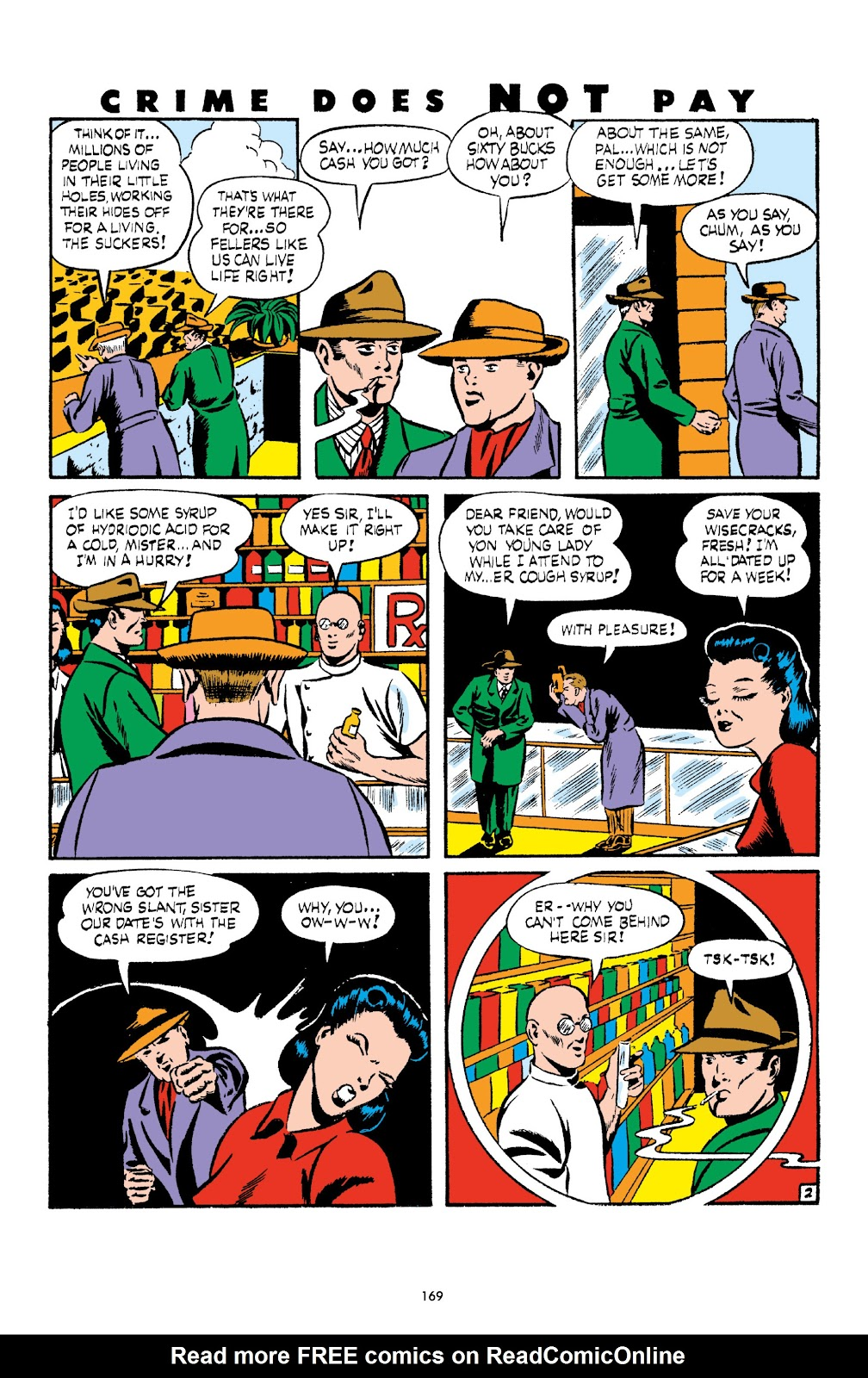 Read online Crime Does Not Pay Archives comic -  Issue # TPB 3 (Part 2) - 69