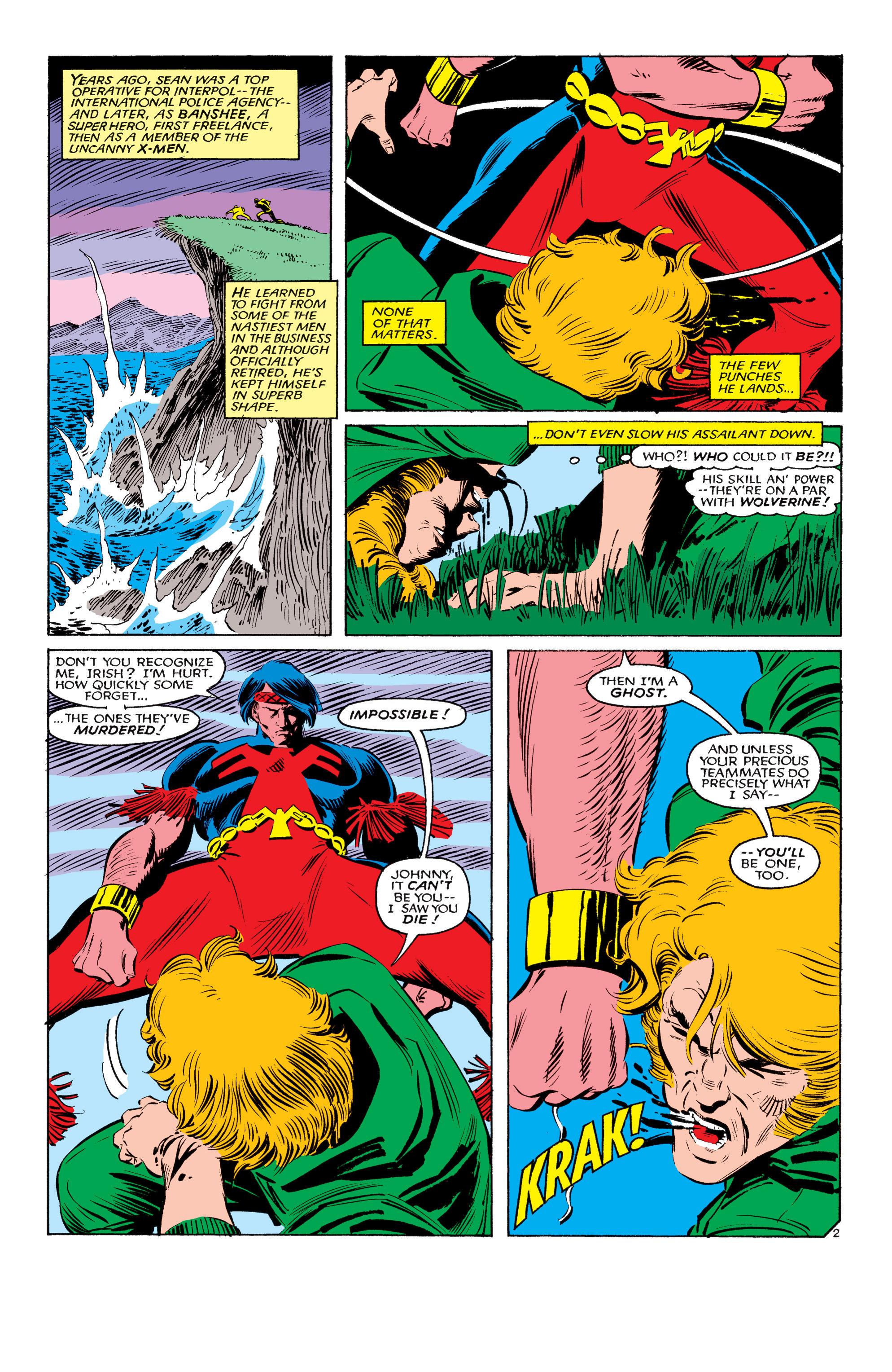 Read online Uncanny X-Men (1963) comic -  Issue #193 - 3