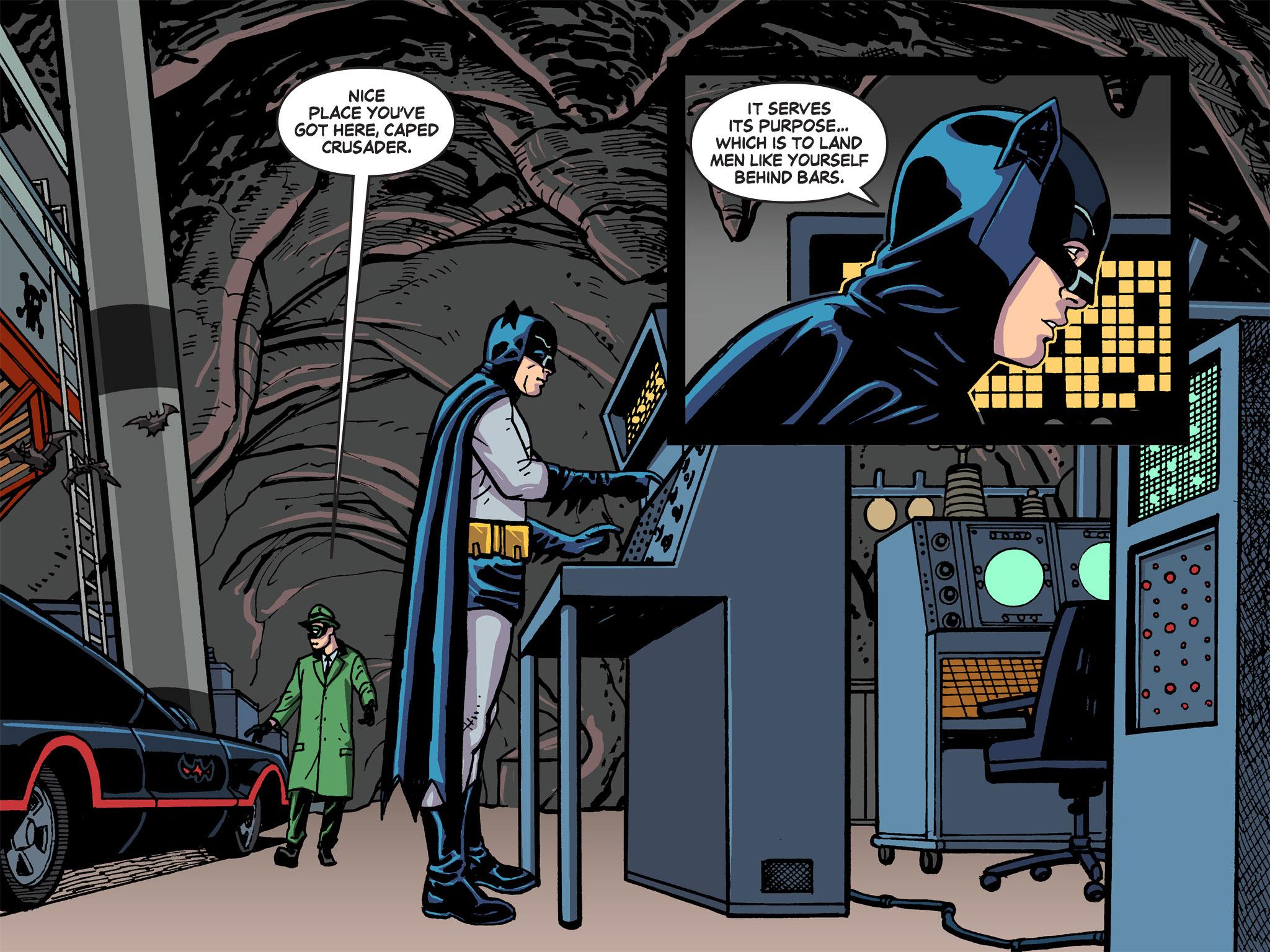 Read online Batman '66 Meets the Green Hornet [II] comic -  Issue #5 - 50