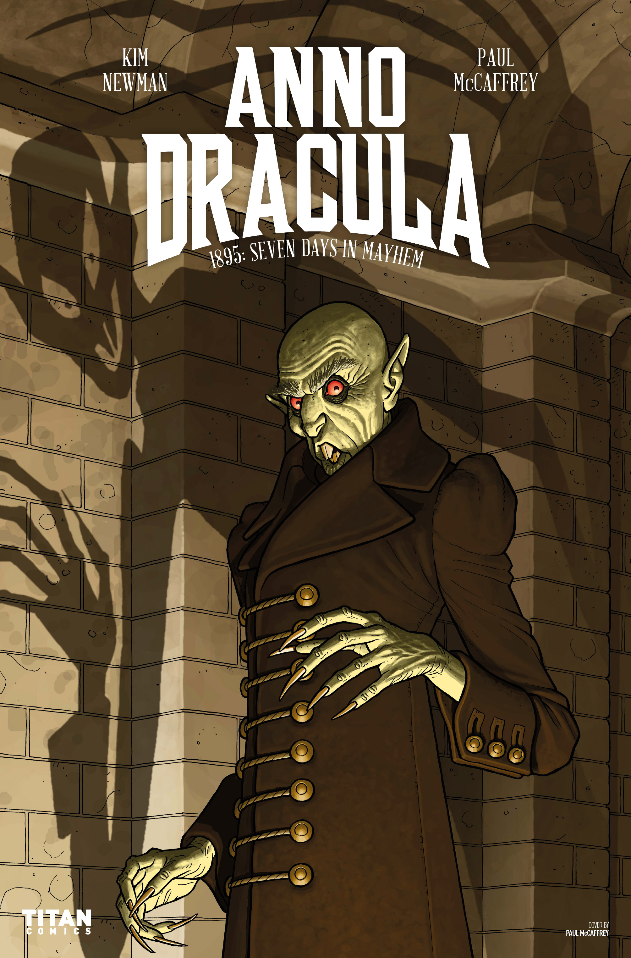 Read online Anno Dracula comic -  Issue #3 - 1