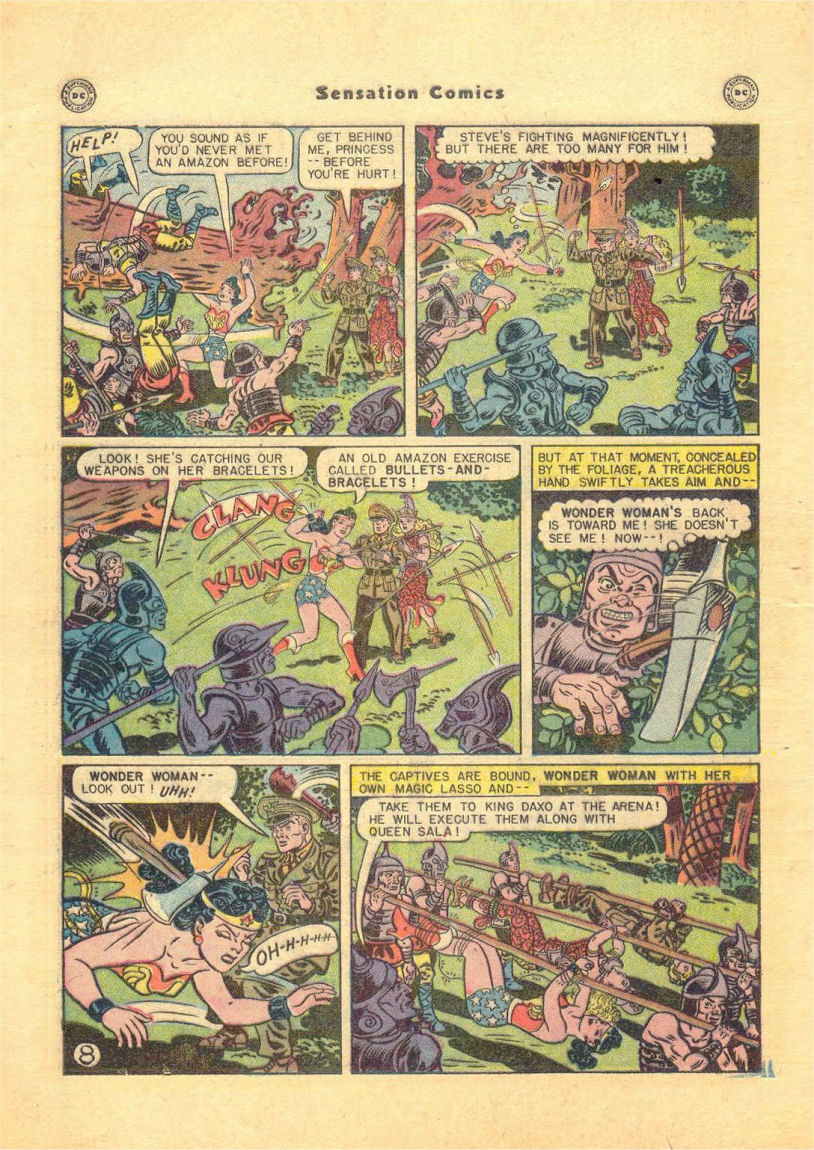 Read online Sensation (Mystery) Comics comic -  Issue #84 - 10