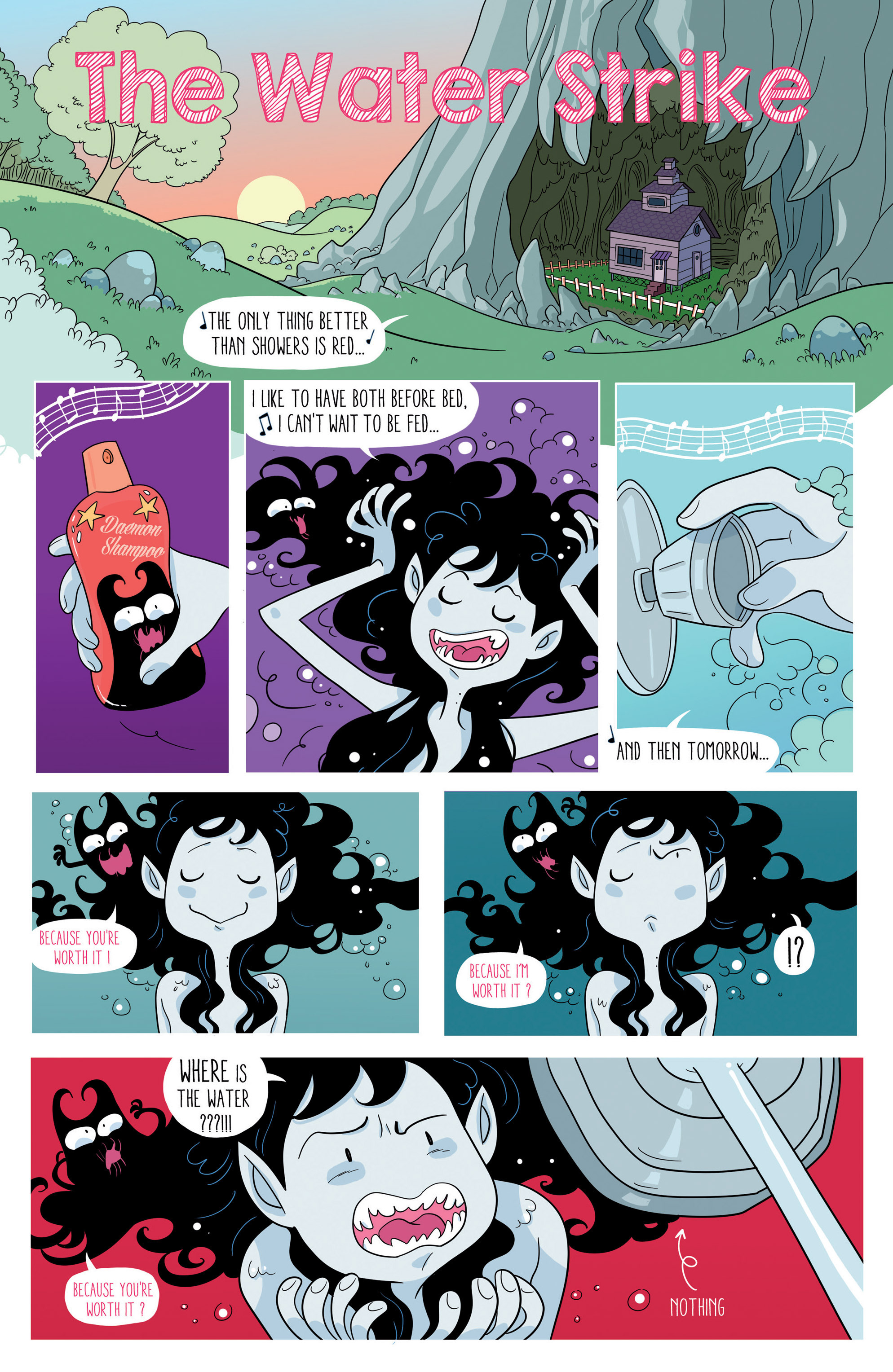 Read online Adventure Time comic -  Issue #46 - 17