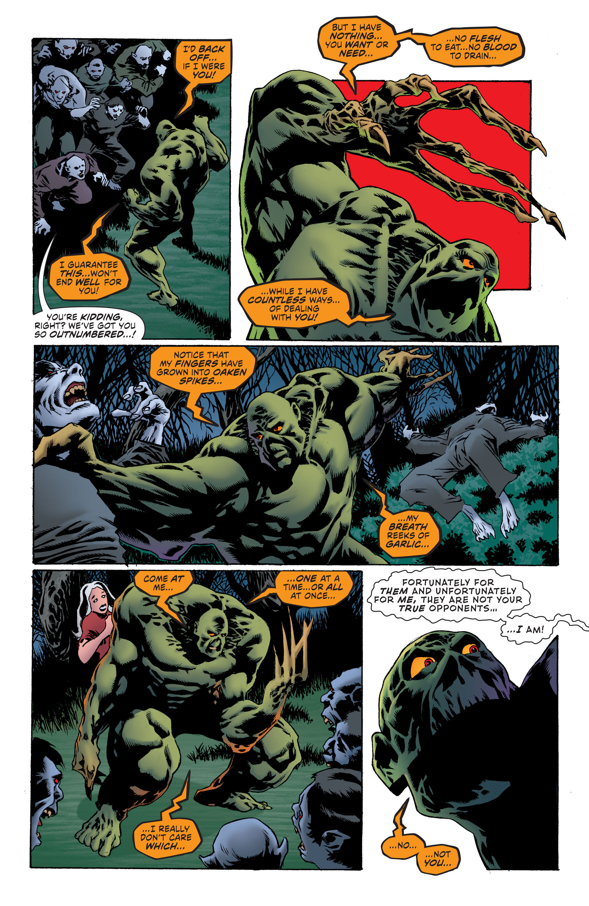 Read online Convergence Swamp Thing comic -  Issue #2 - 3