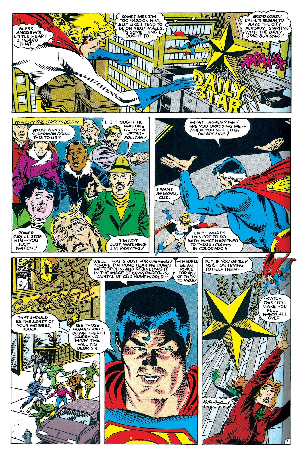 Infinity Inc. (1984) issue 7 - Page 7