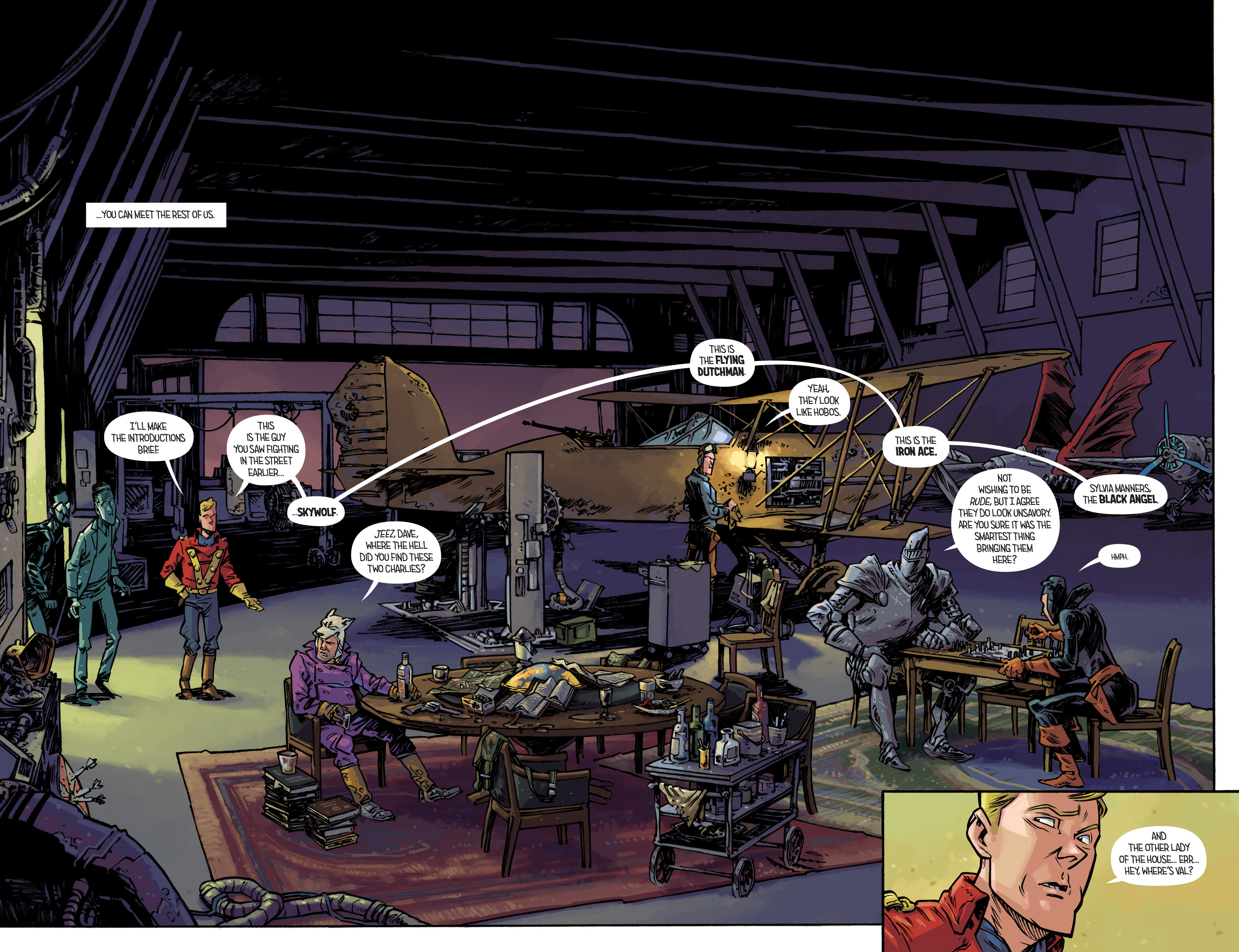 Read online Airboy comic -  Issue #3 - 10