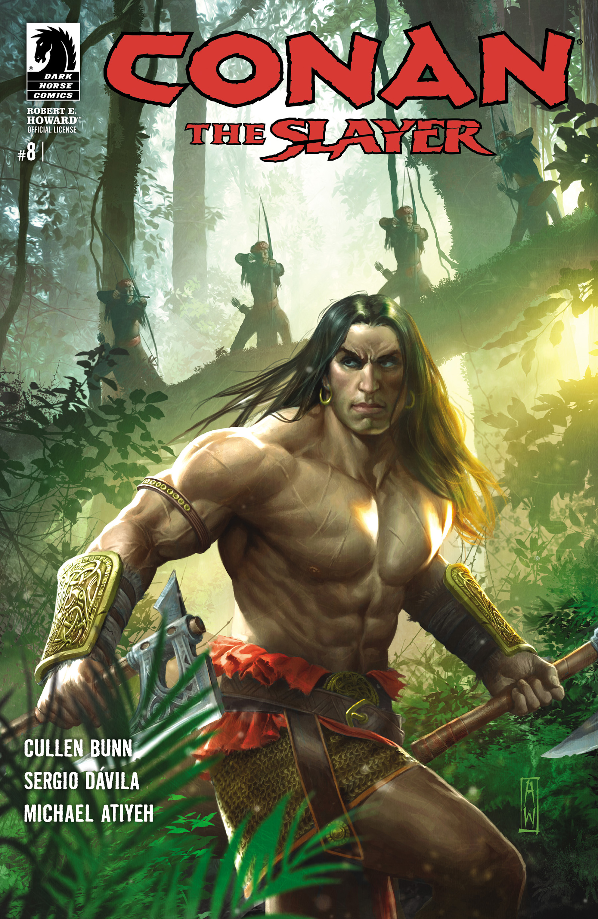 Read online Conan The Slayer comic -  Issue #8 - 1