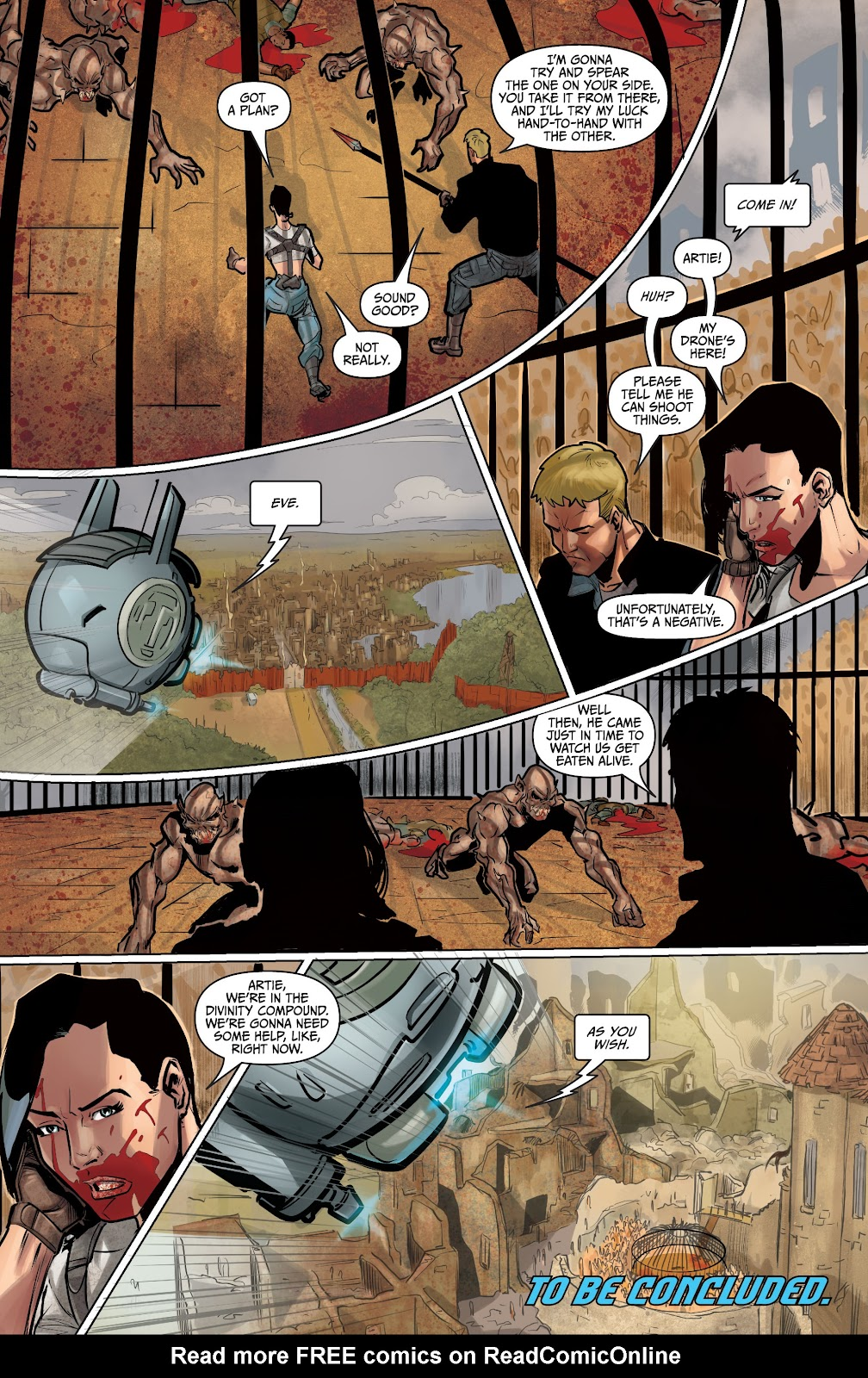 The Courier: Liberty & Death issue 2 - Page 33