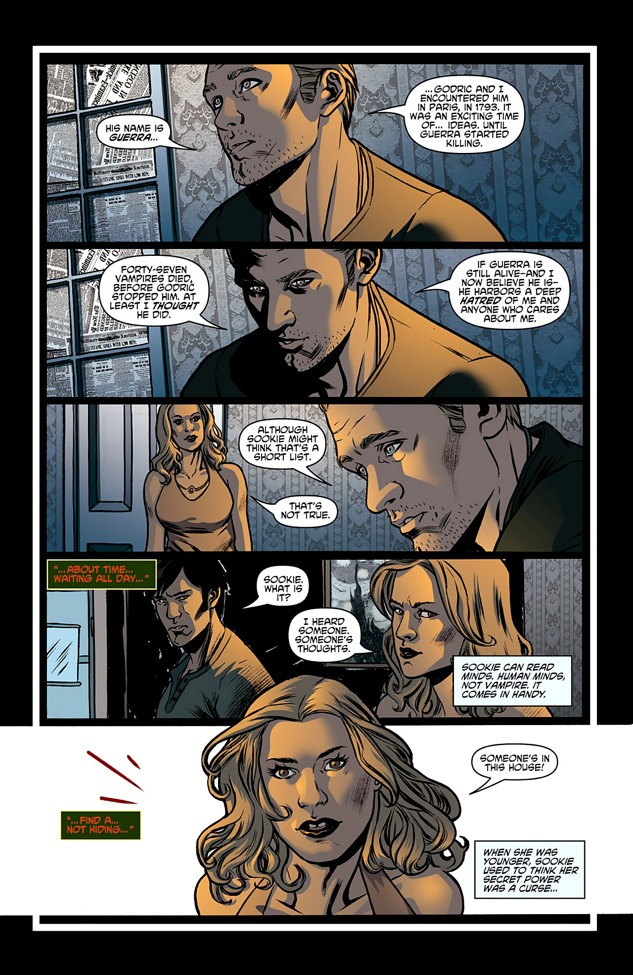 Read online True Blood: French Quarter comic -  Issue #1 - 22